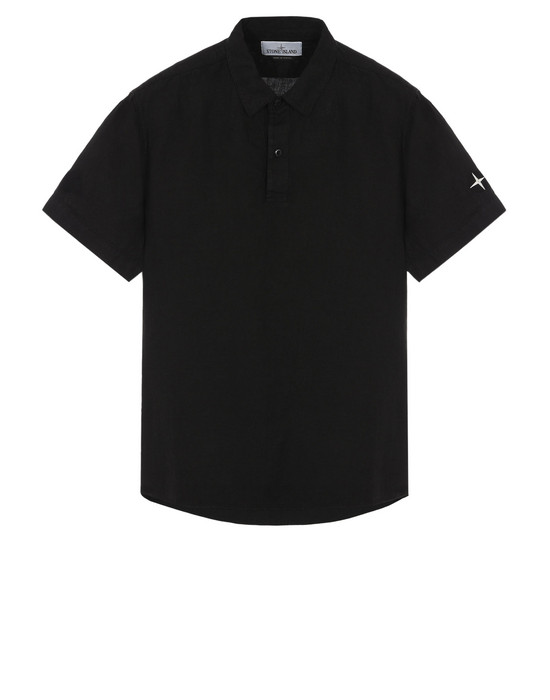 STONE ISLAND Short sleeve shirt 11401 'FISSATO' DYE TREATMENT