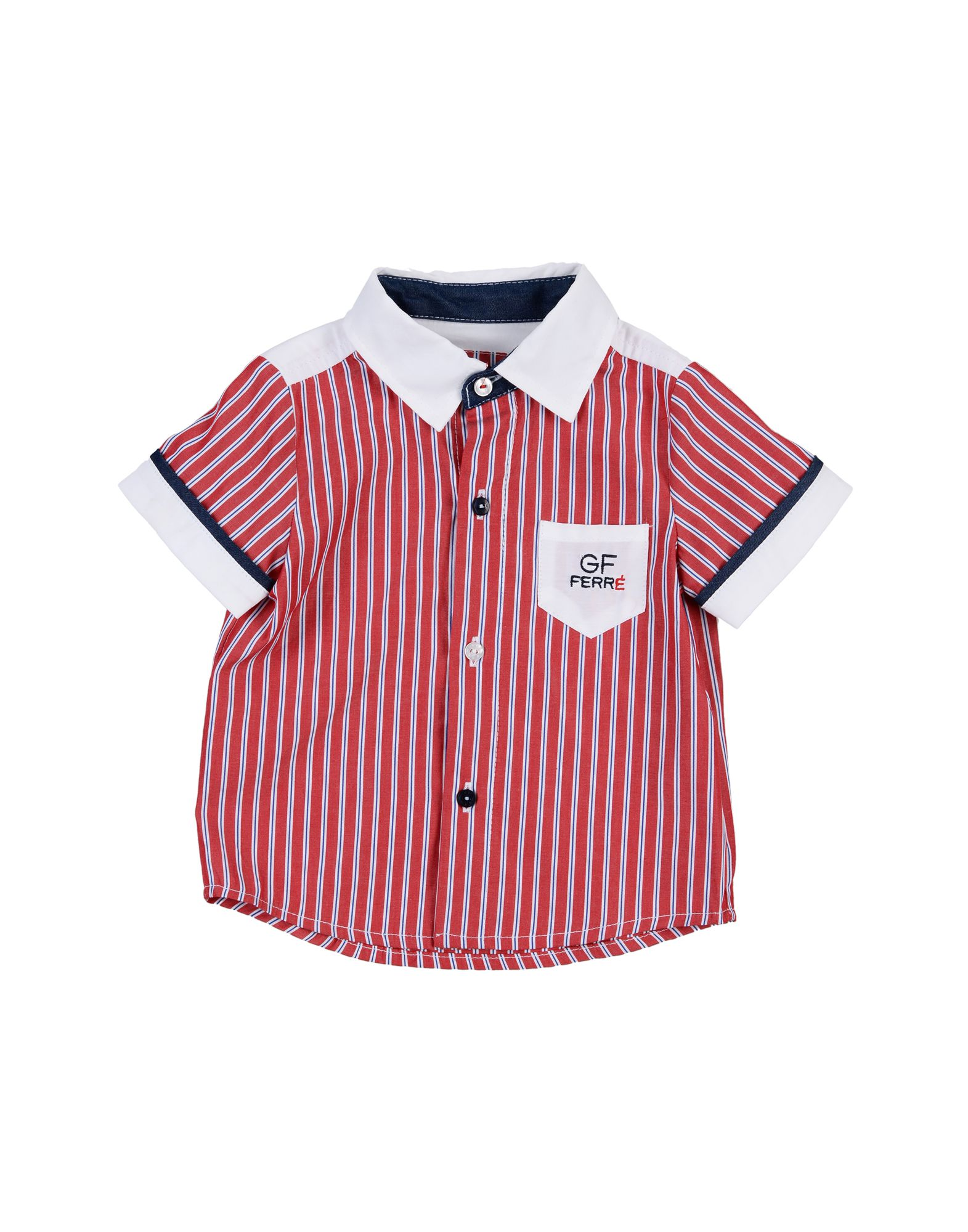 GF FERRE' Pубашка приталенное платье с застежкой на пуговицы gf ferre платья и сарафаны мини короткие