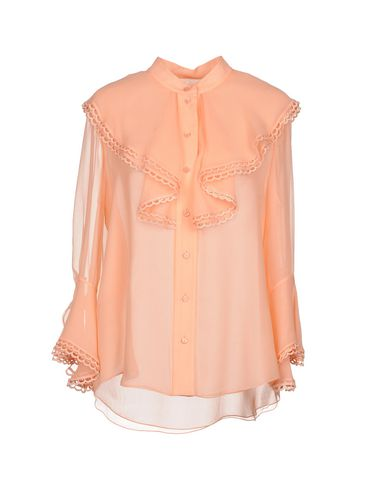 Фото - Pубашка от CHLOÉ розового цвета