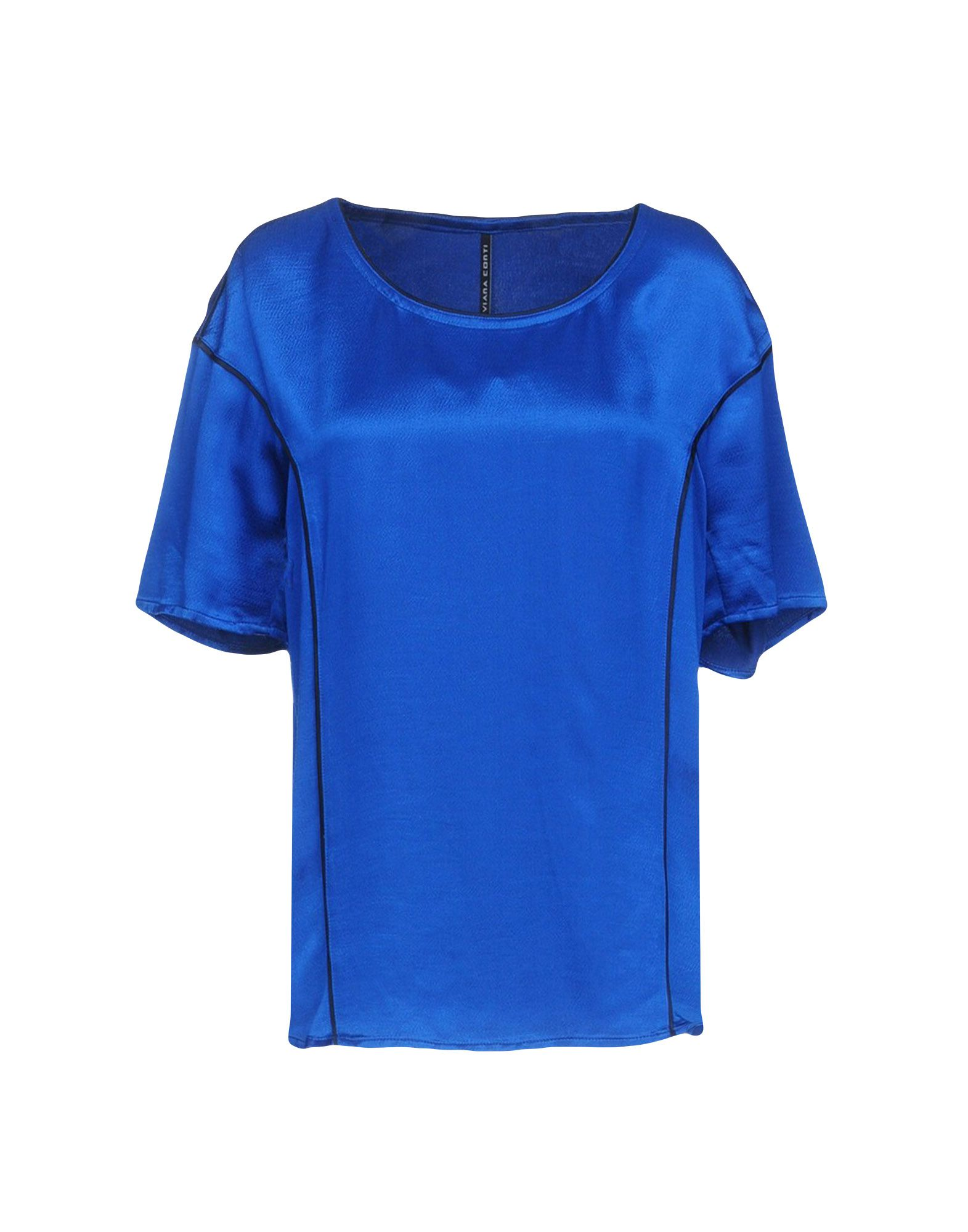 LIVIANA CONTI Blouse in Bright Blue