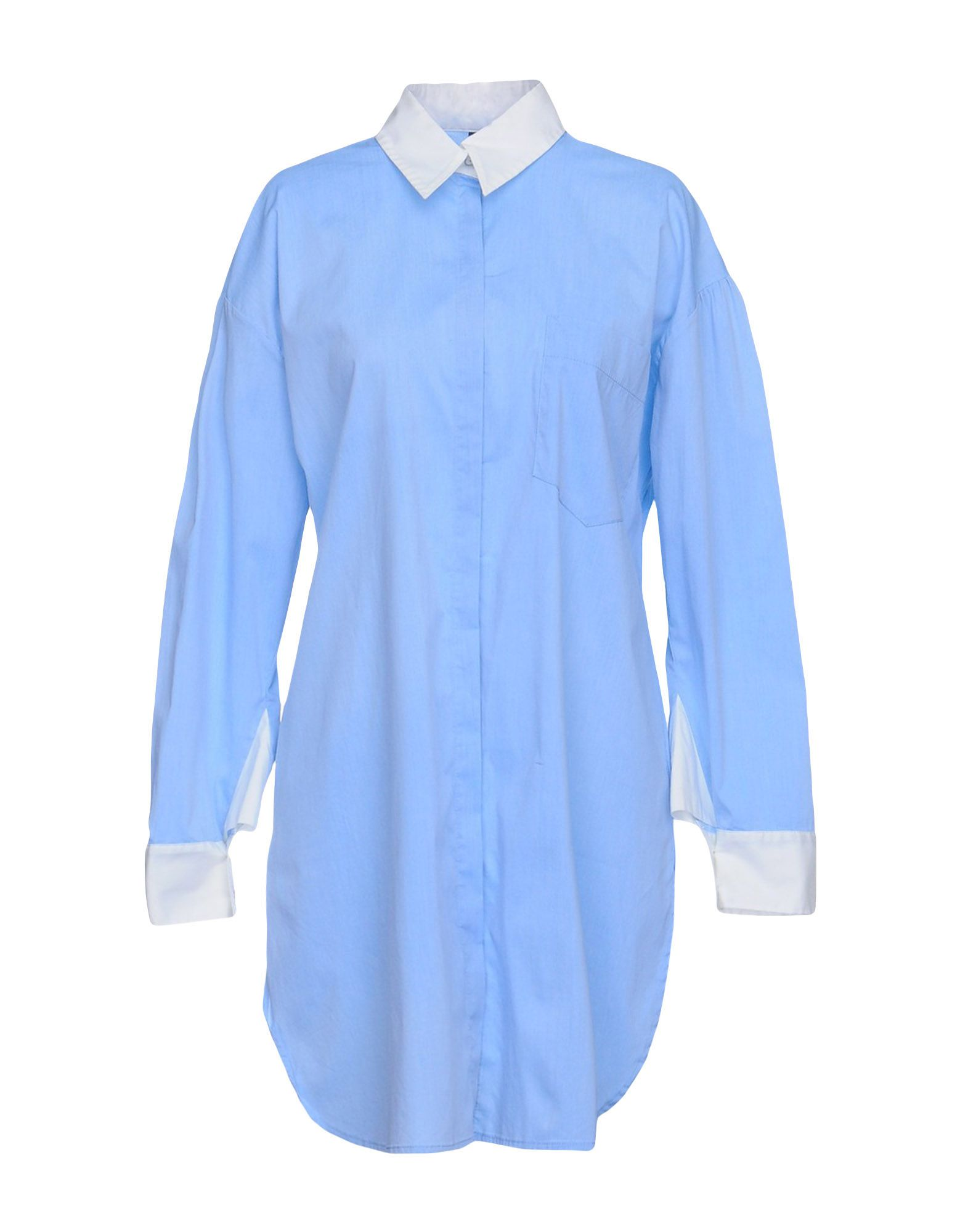 LIVIANA CONTI Shirt Dress in Sky Blue