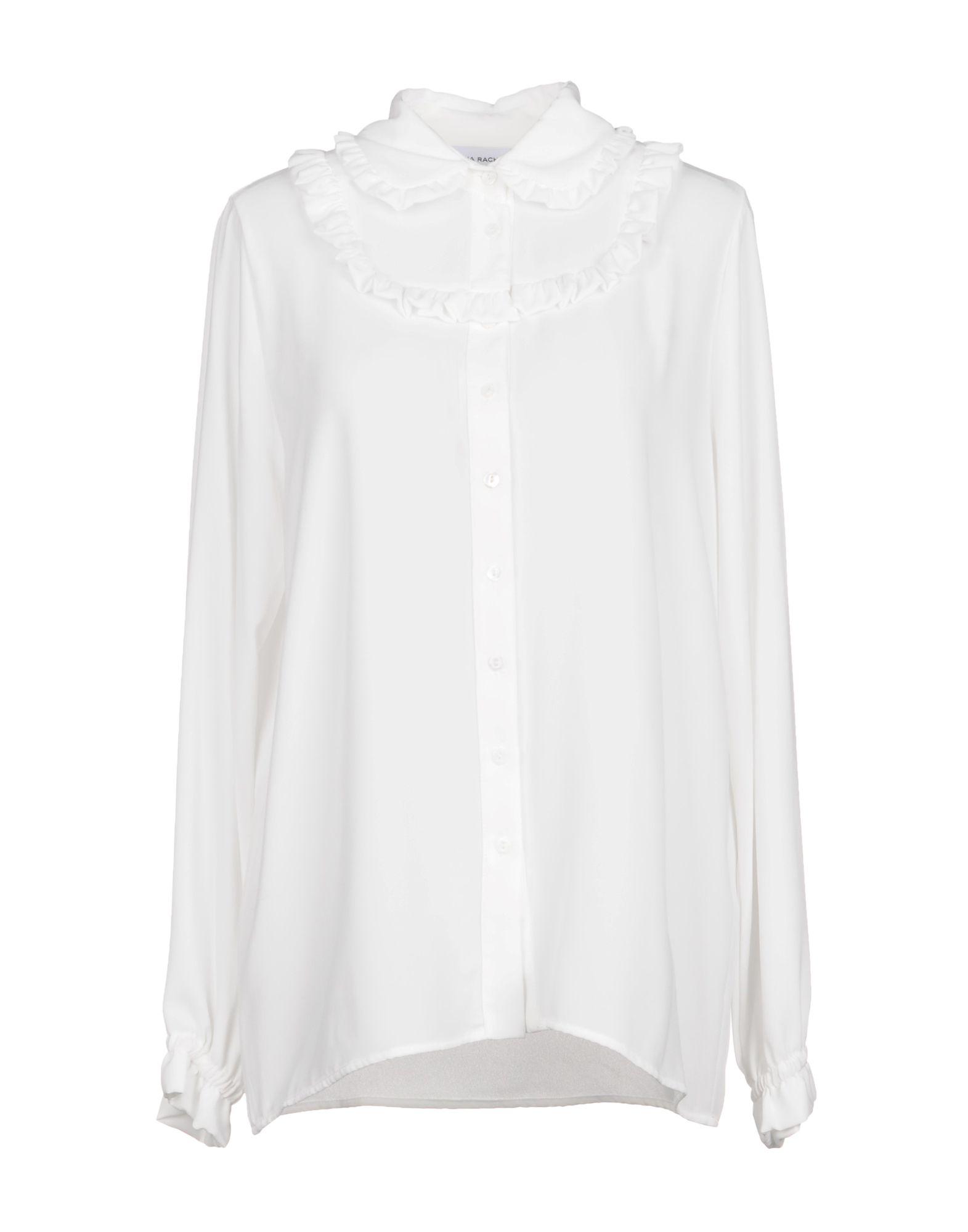 ANNA RACHELE JEANS COLLECTION Damen Hemd Farbe Weiß Größe 5