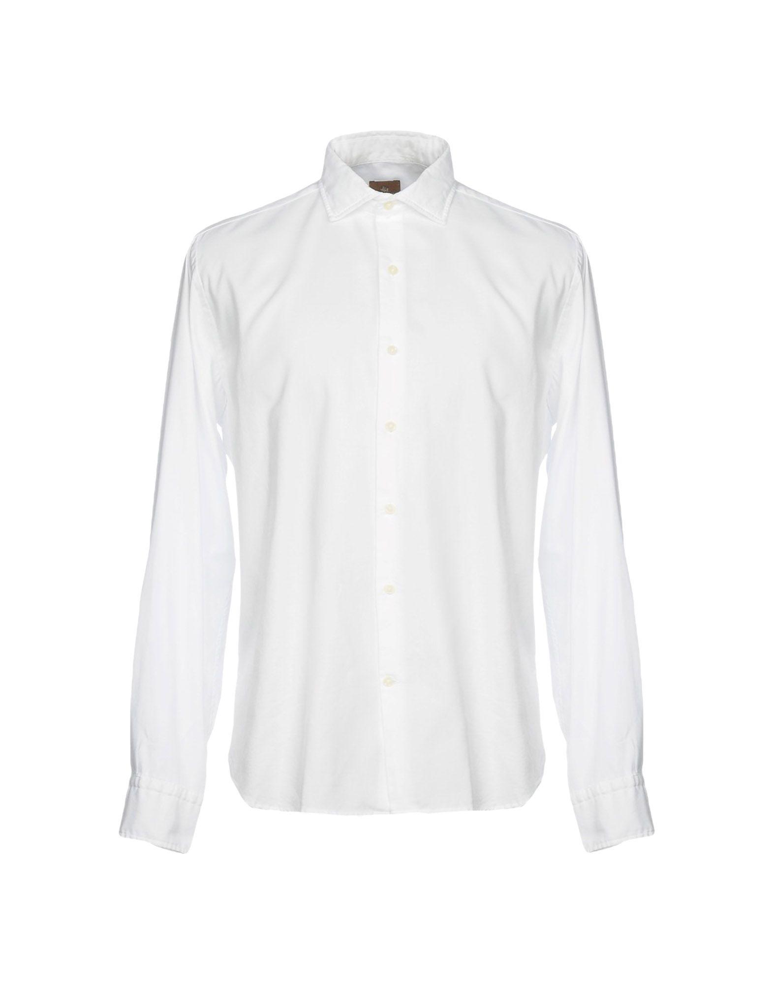 《セール開催中》JEY COLE MAN メンズ シャツ ホワイト 44 コットン 100%