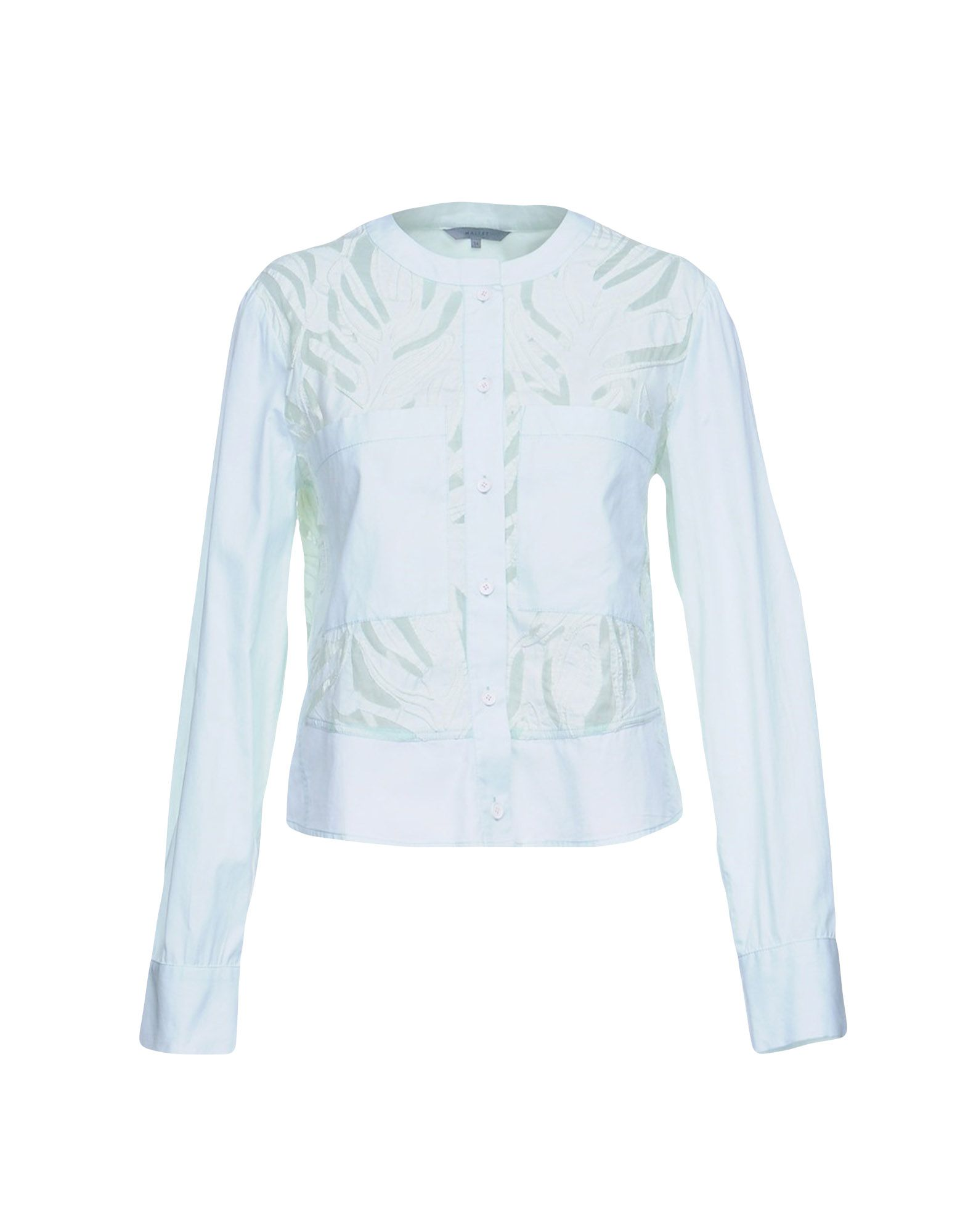 MAIYET Patterned Shirts & Blouses in Light Green