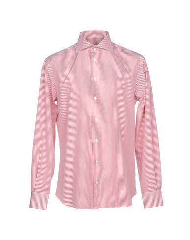 Фото - Pубашка от GIANMARCO BONAGA красного цвета