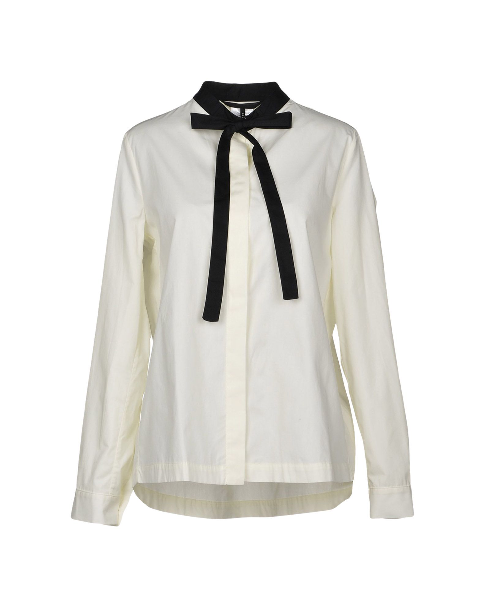 LIVIANA CONTI Shirts & Blouses With Bow in White