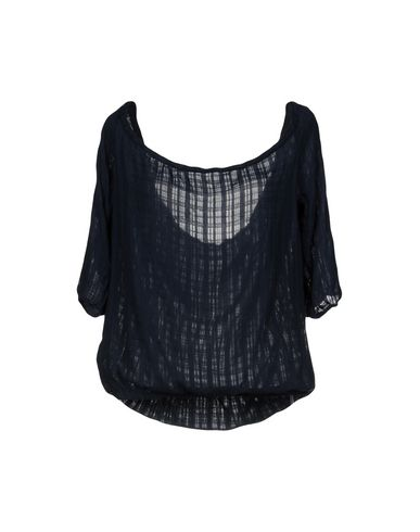 Купить Женскую блузку MONROW темно-синего цвета