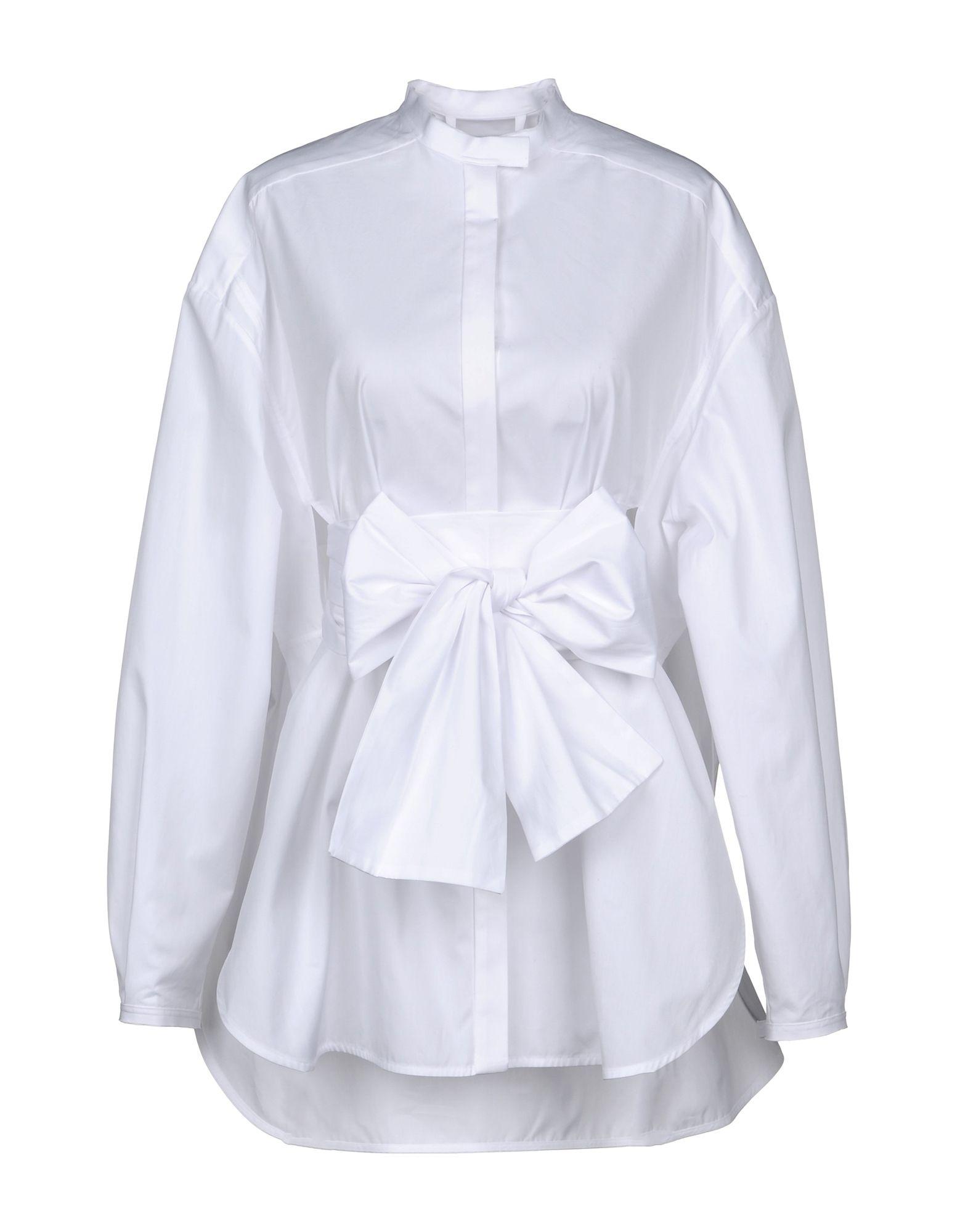 《セール開催中》ELLERY レディース シャツ ホワイト 6 コットン 100%