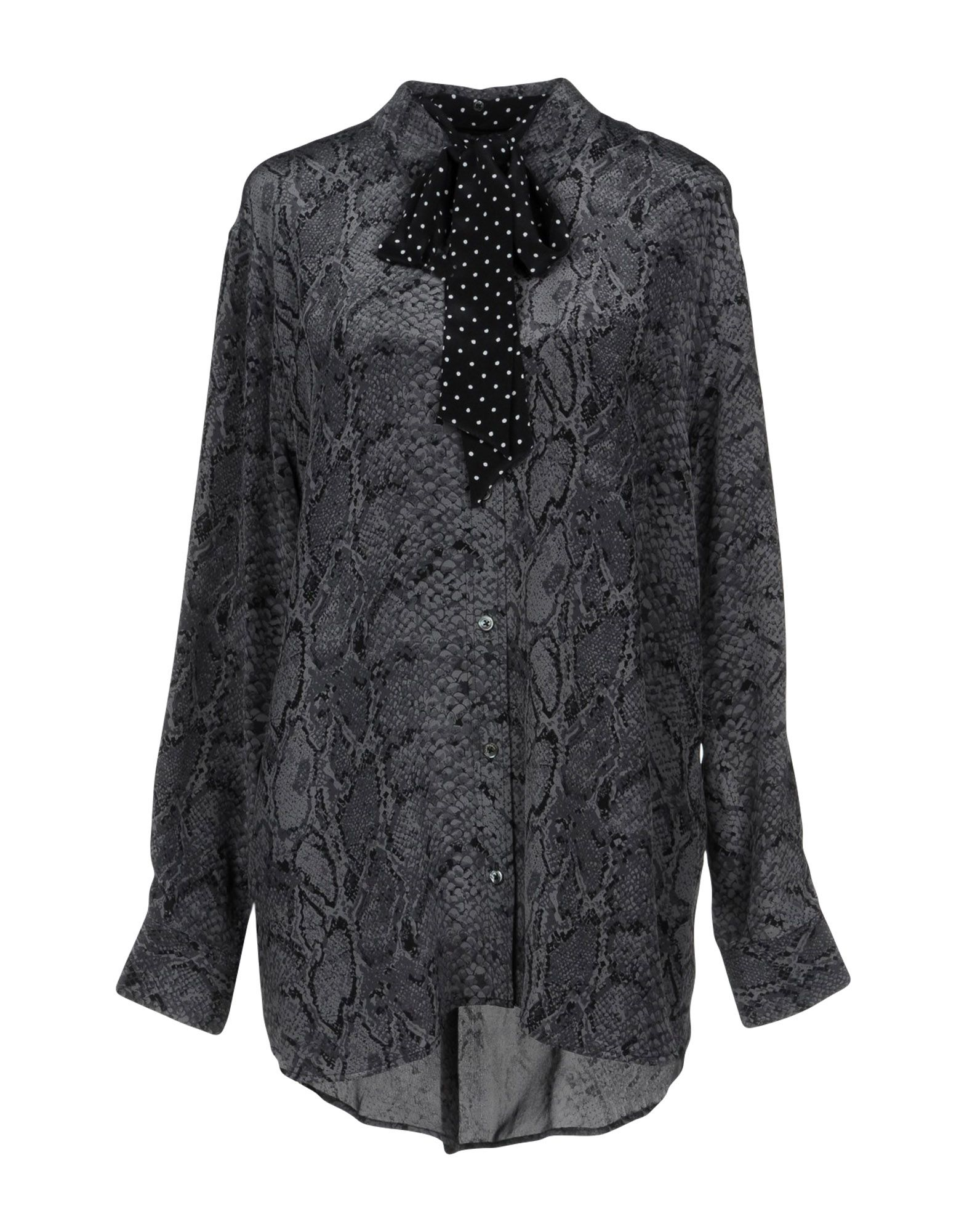 KATE MOSS EQUIPMENT Patterned Shirts & Blouses in Grey