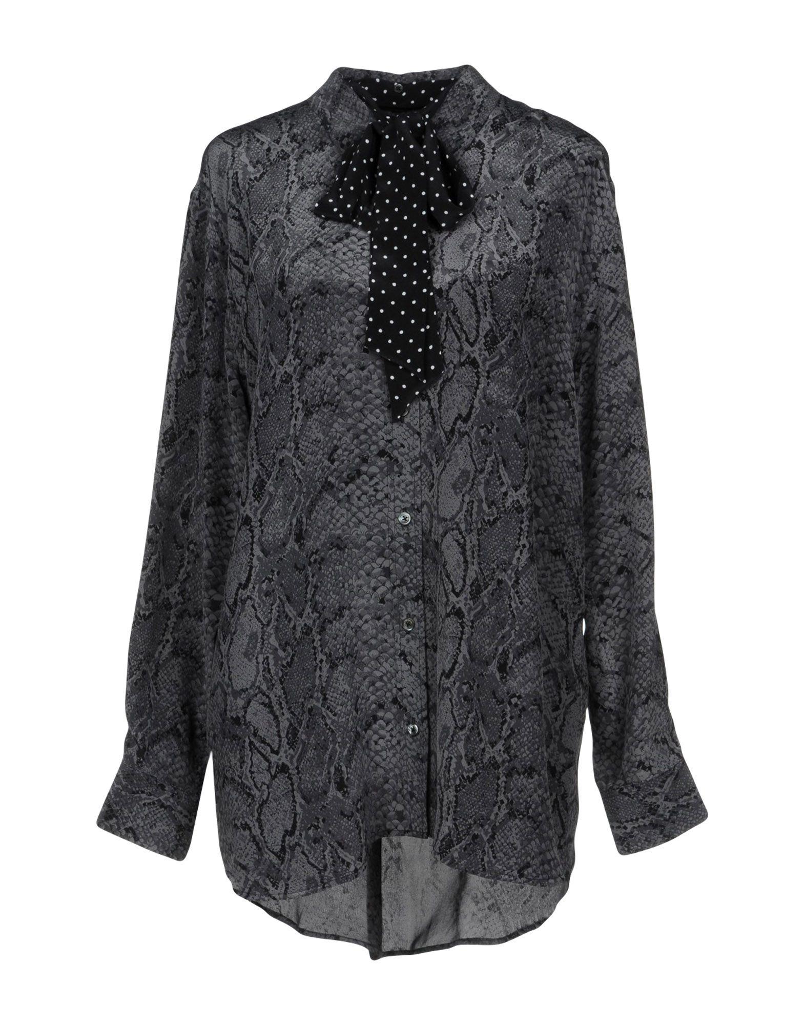《送料無料》KATE MOSS EQUIPMENT レディース シャツ グレー XS シルク 100%