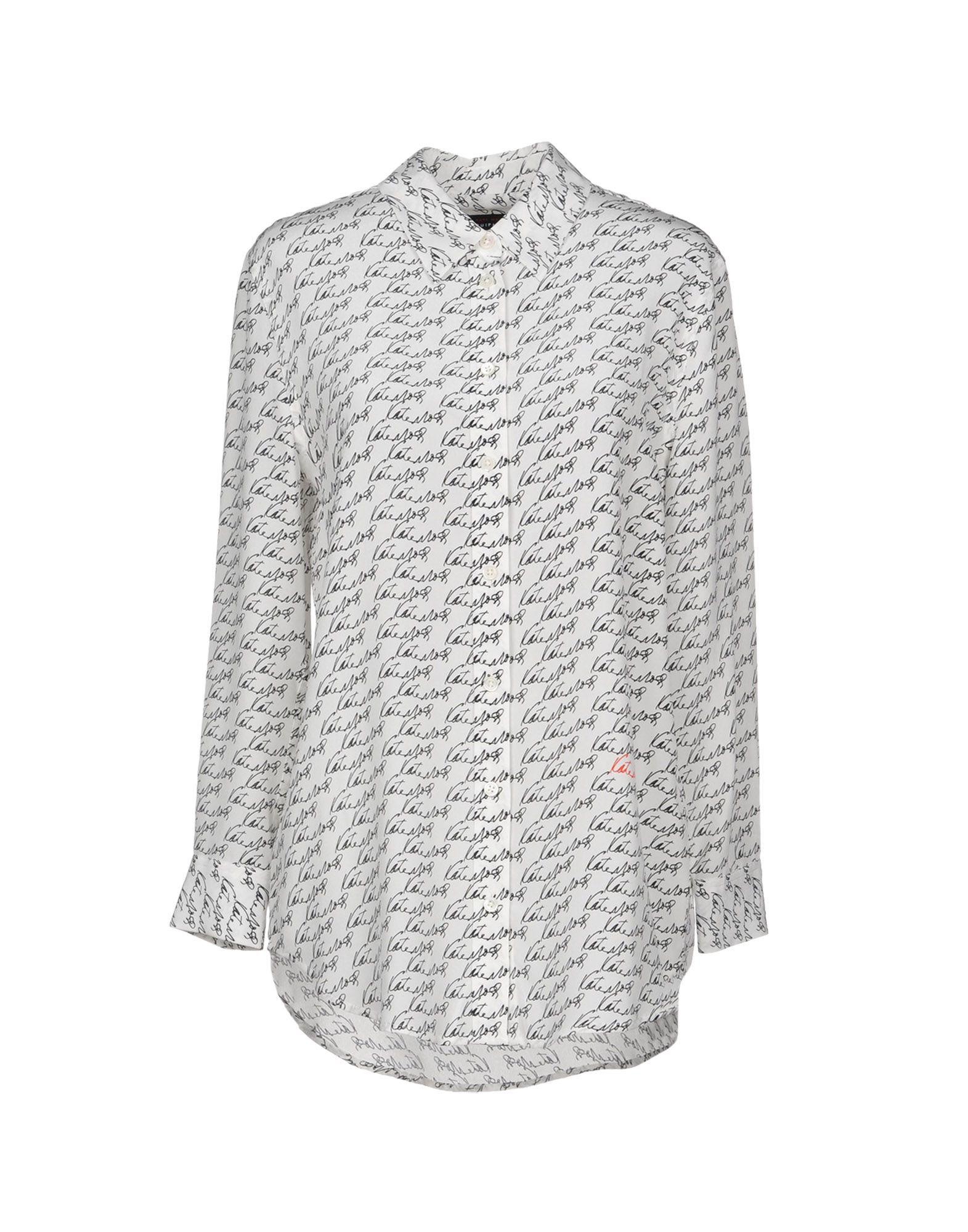 《送料無料》KATE MOSS EQUIPMENT レディース シャツ ホワイト XS シルク 100%