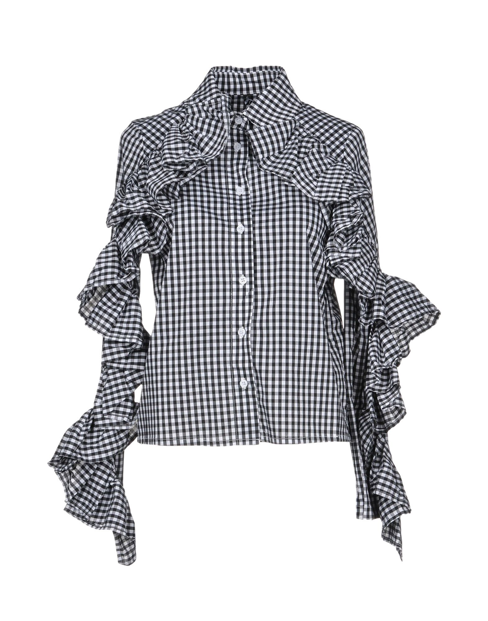 TPN Checked Shirt in Black