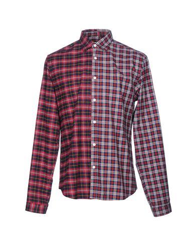 Купить Pубашка от MACCHIA J красно-коричневого цвета