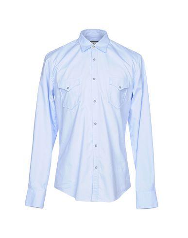 Купить Pубашка от MACCHIA J небесно-голубого цвета