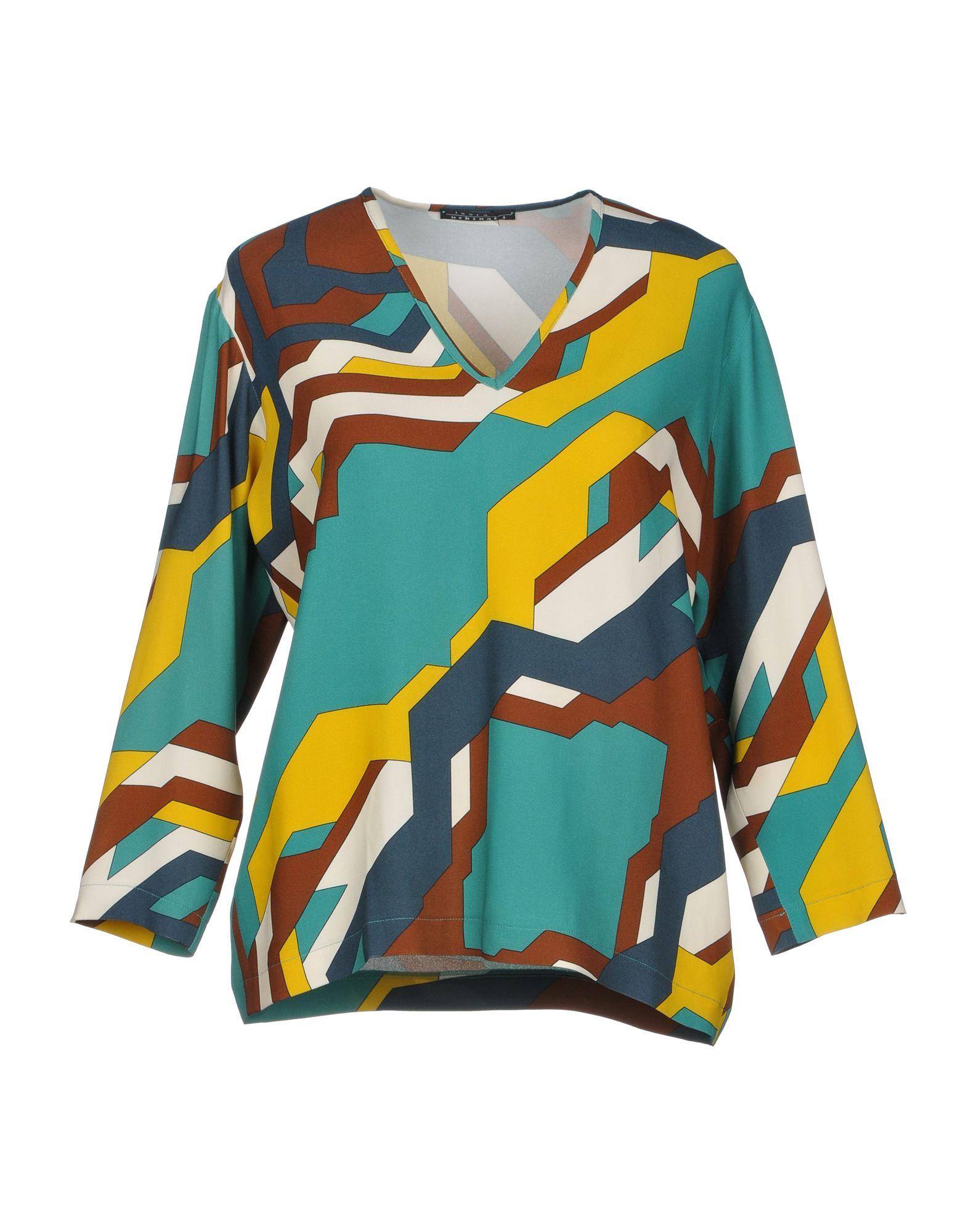 LAURA URBINATI Блузка блузка laura kent klingel цвет серый коралловый рисунок