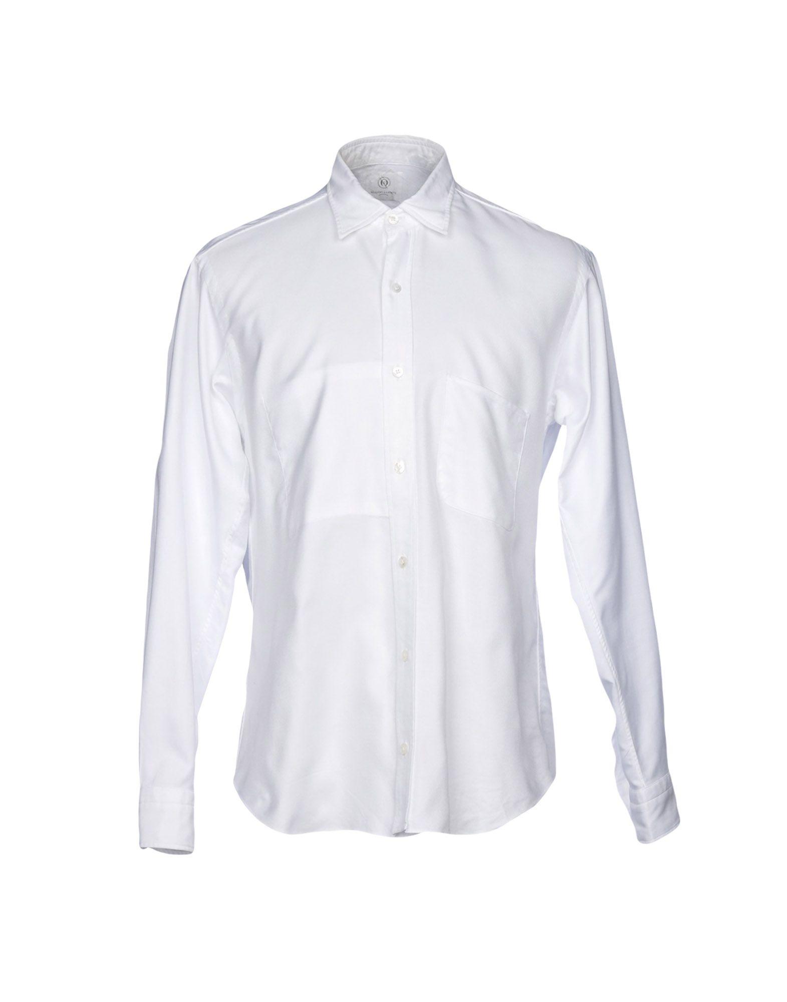 《送料無料》MASSIMO LA PORTA メンズ シャツ ホワイト 39 コットン 100%