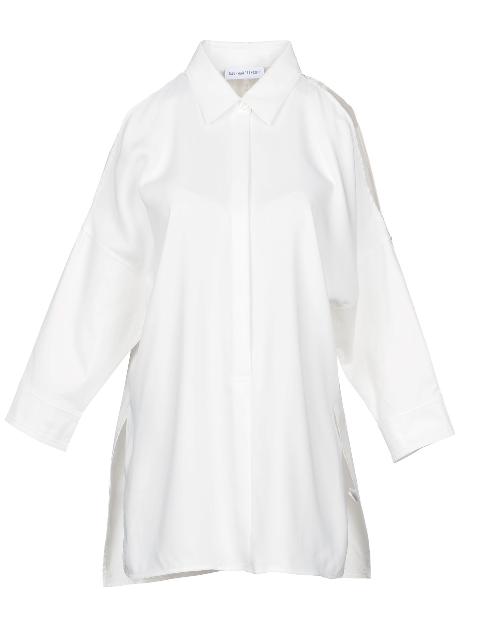 KAUFMANFRANCO Solid Color Shirts & Blouses in White