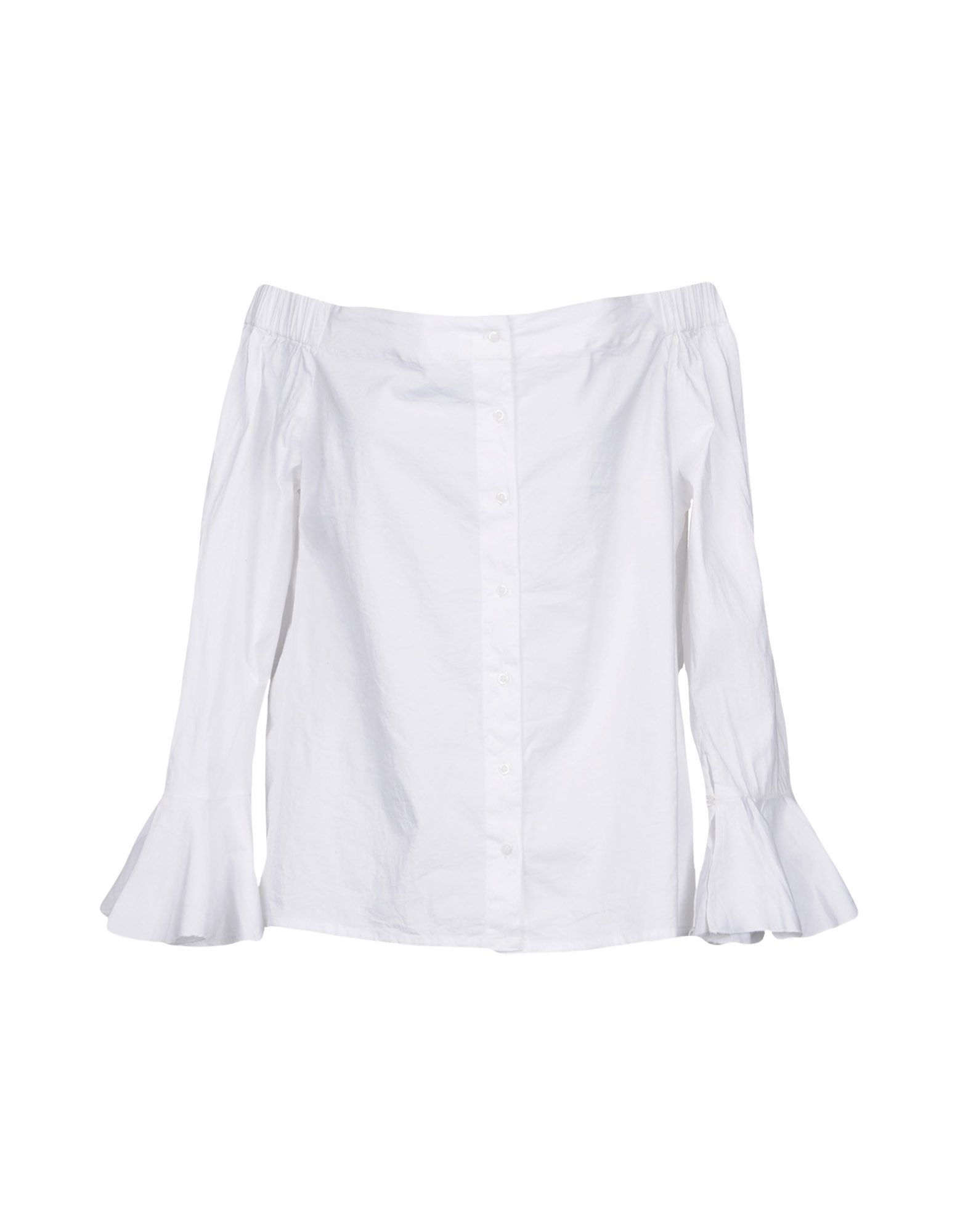 WALTER BAKER Solid Color Shirts & Blouses in White