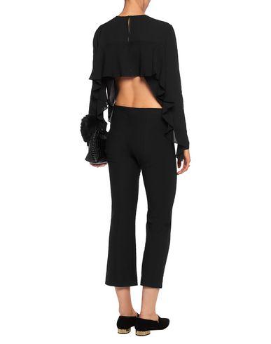 Фото 2 - Женскую блузку A.L.C. черного цвета