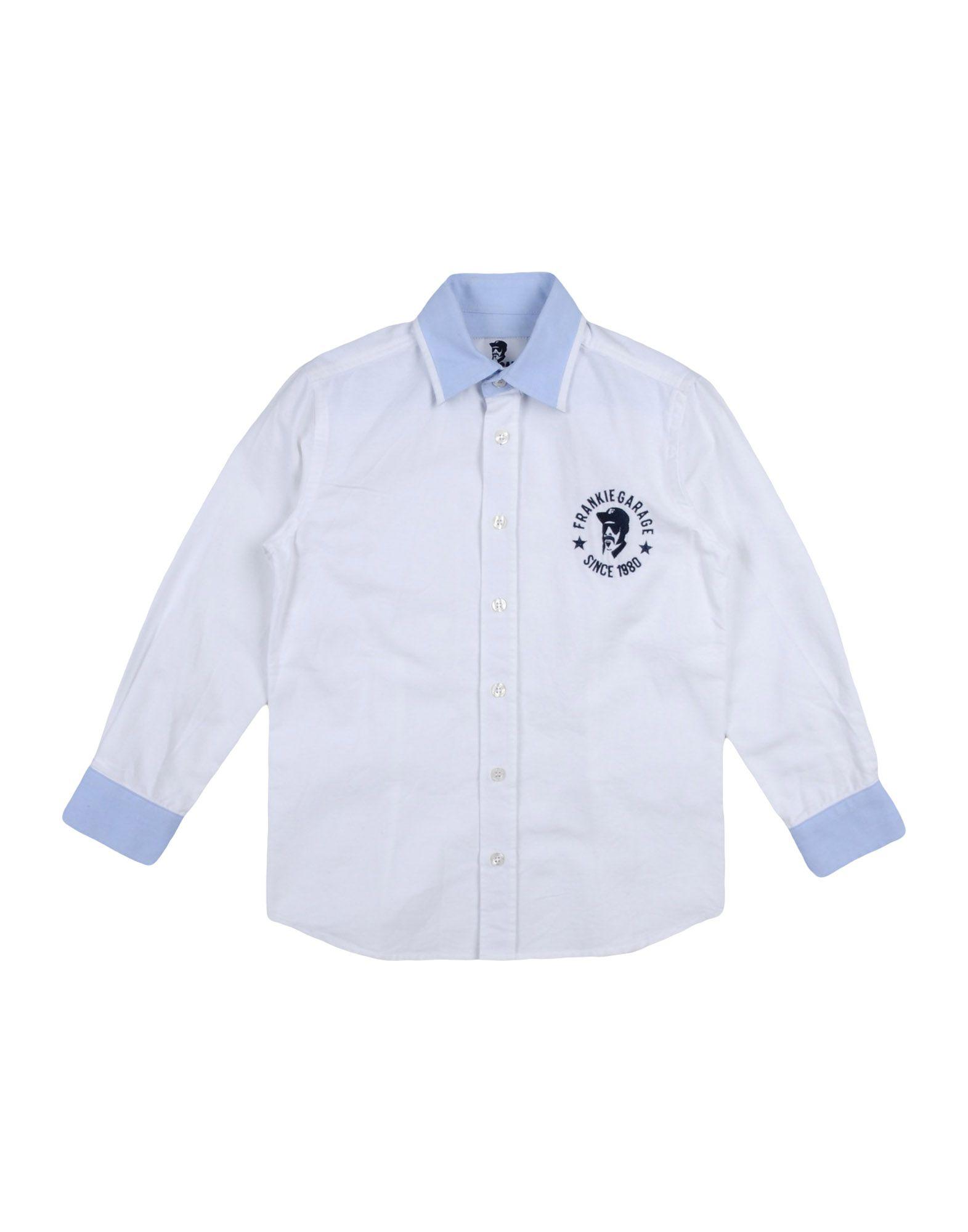 《セール開催中》FRANKIE GARAGE ボーイズ 3-8 歳 シャツ ホワイト 6 コットン 100%