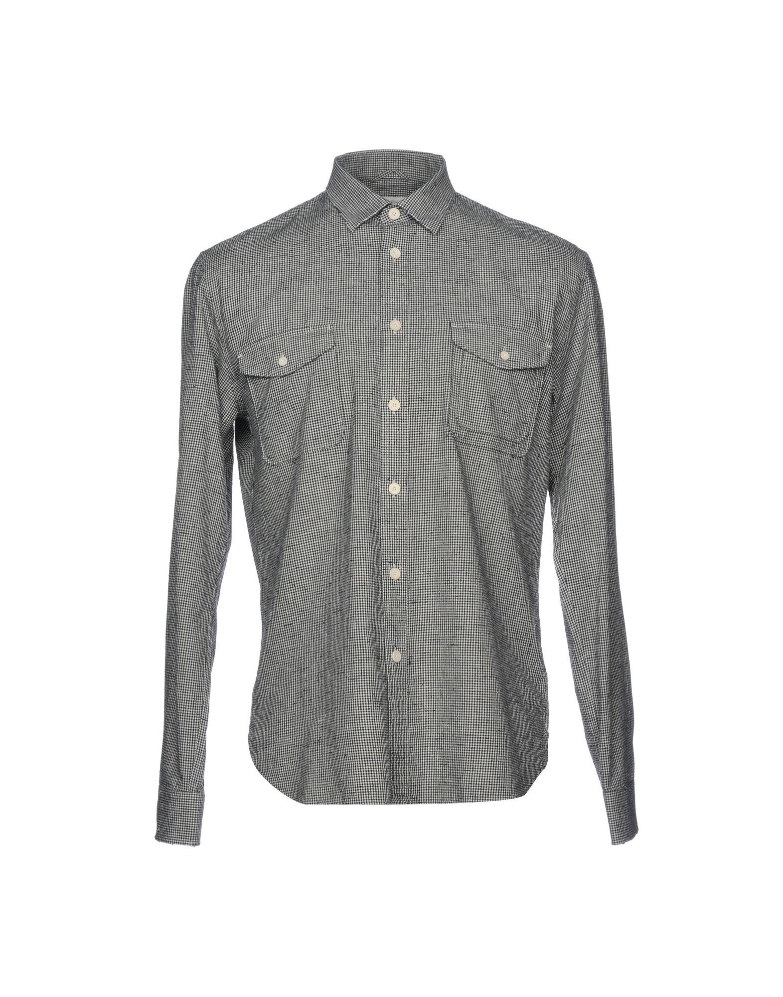 《送料無料》KENT & CURWEN メンズ シャツ ダークブルー XS コットン 100%