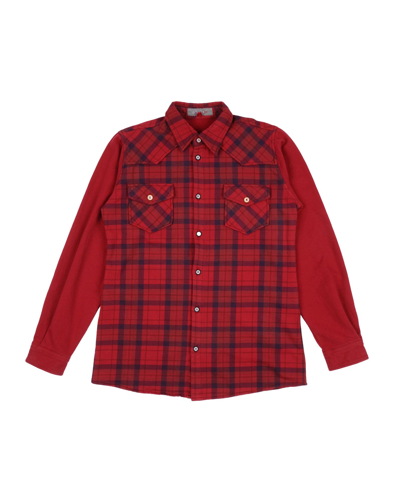 OFFICINA 51 Checked Shirt in Red