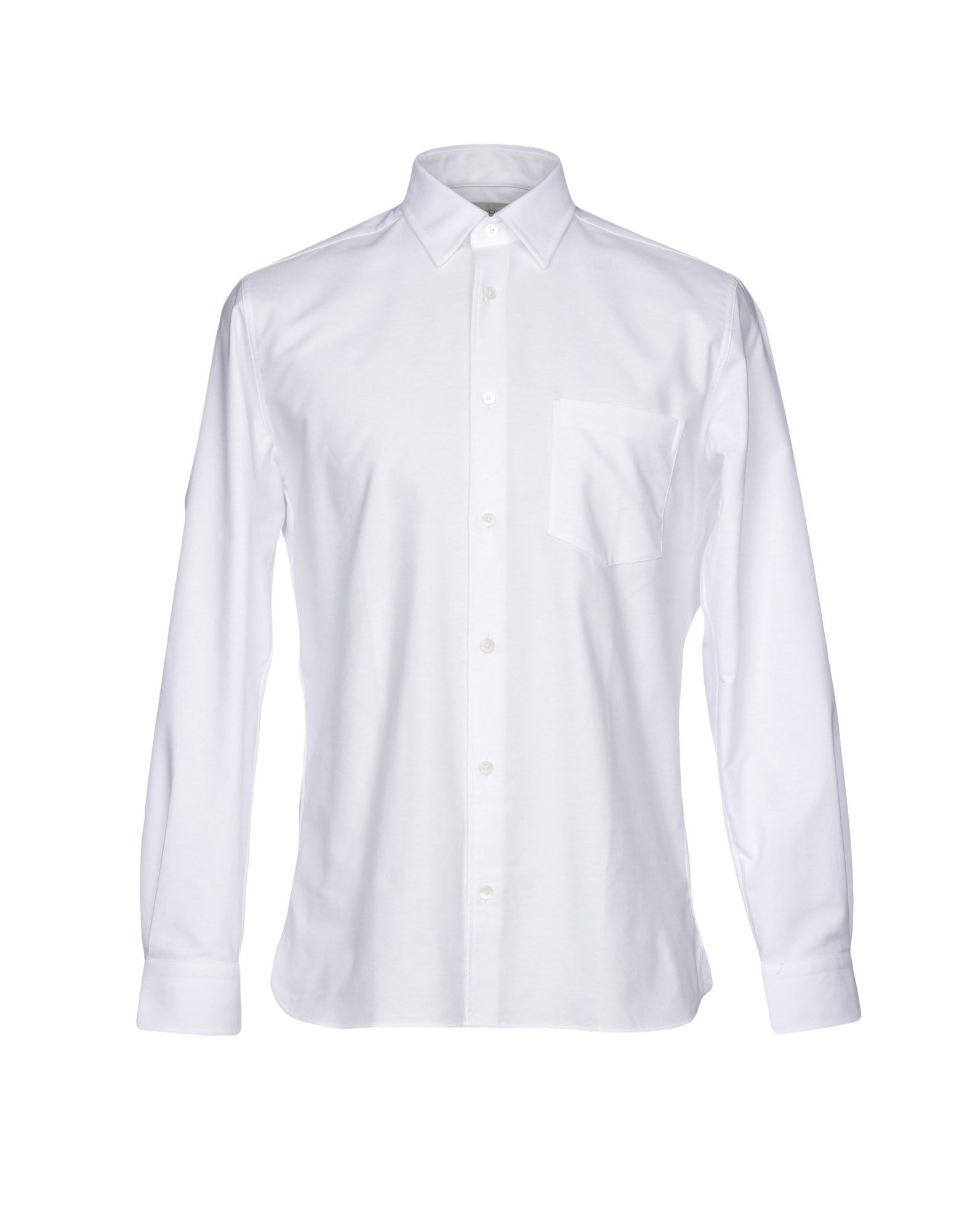 《送料無料》KENT & CURWEN メンズ シャツ ホワイト 37 コットン 100%