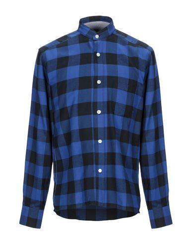 Фото - Pубашка от ELEVENTY синего цвета