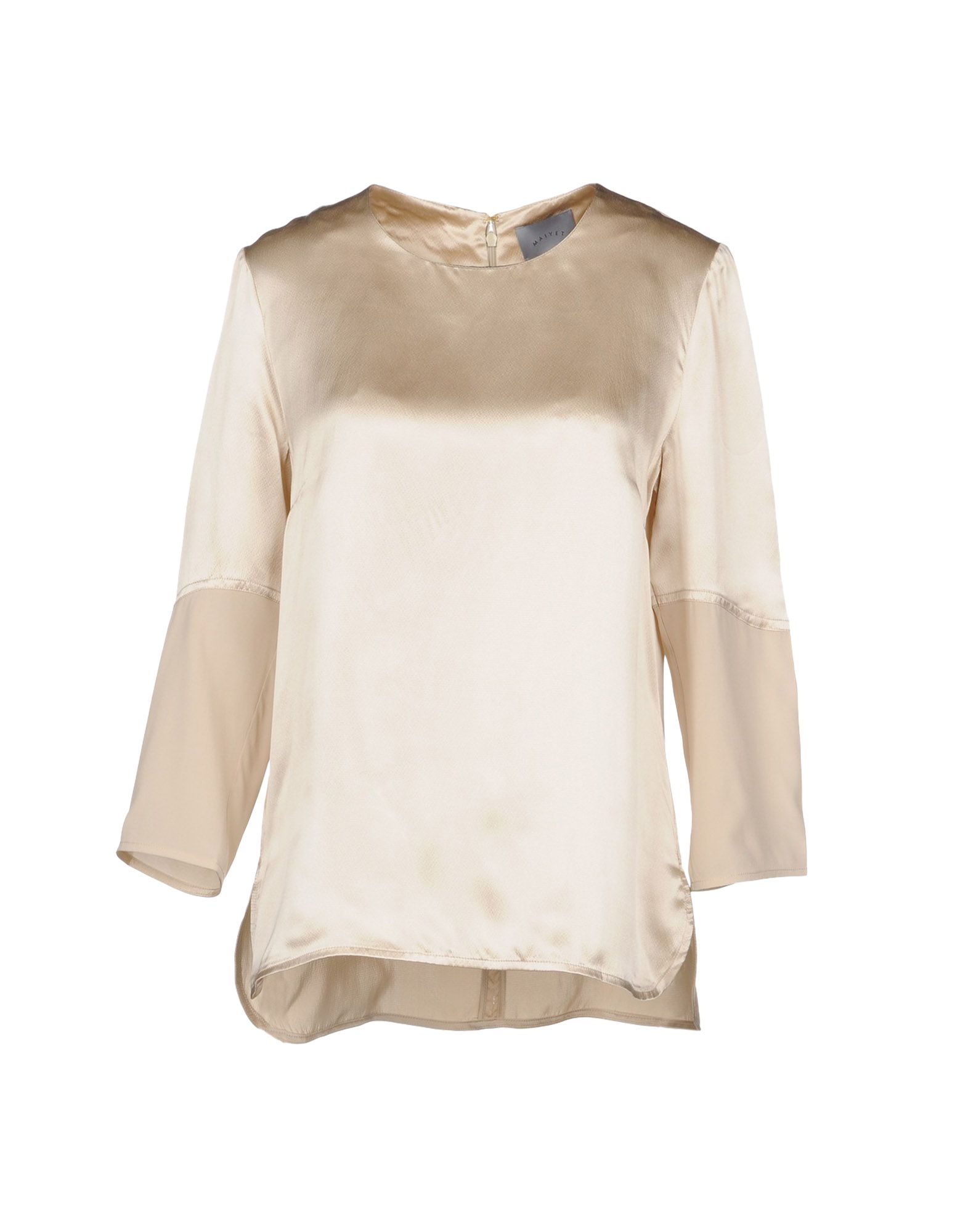 MAIYET Blouse in Dove Grey