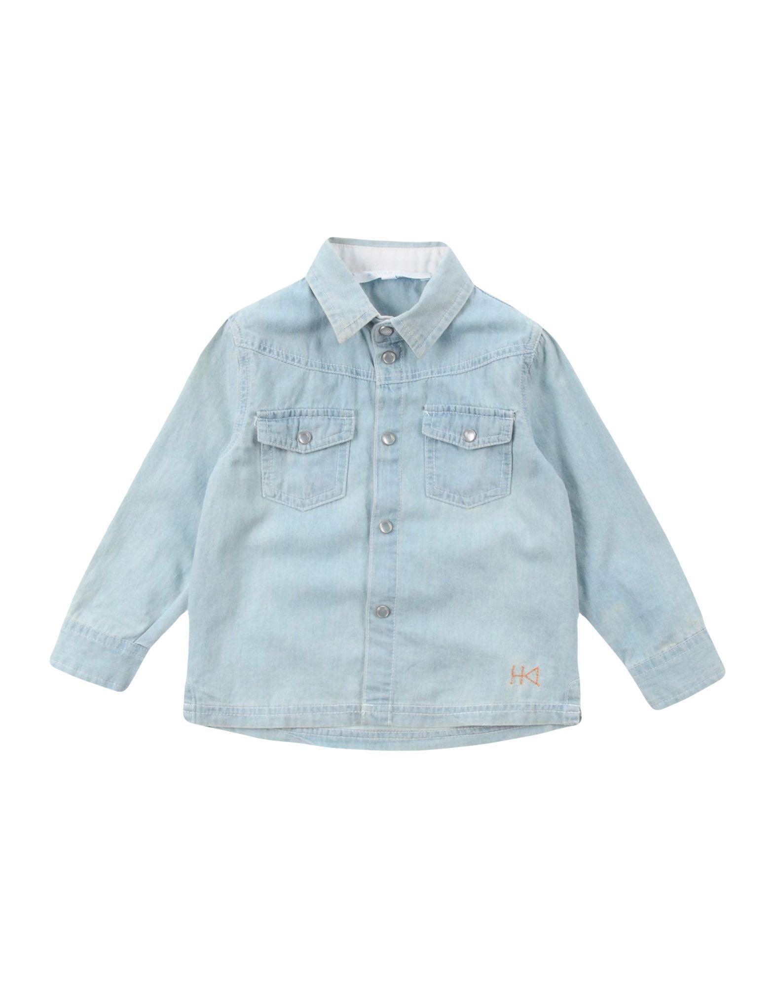 SILVIAN HEACH KIDS Джинсовая рубашка рубашка silvian heach kids рубашка