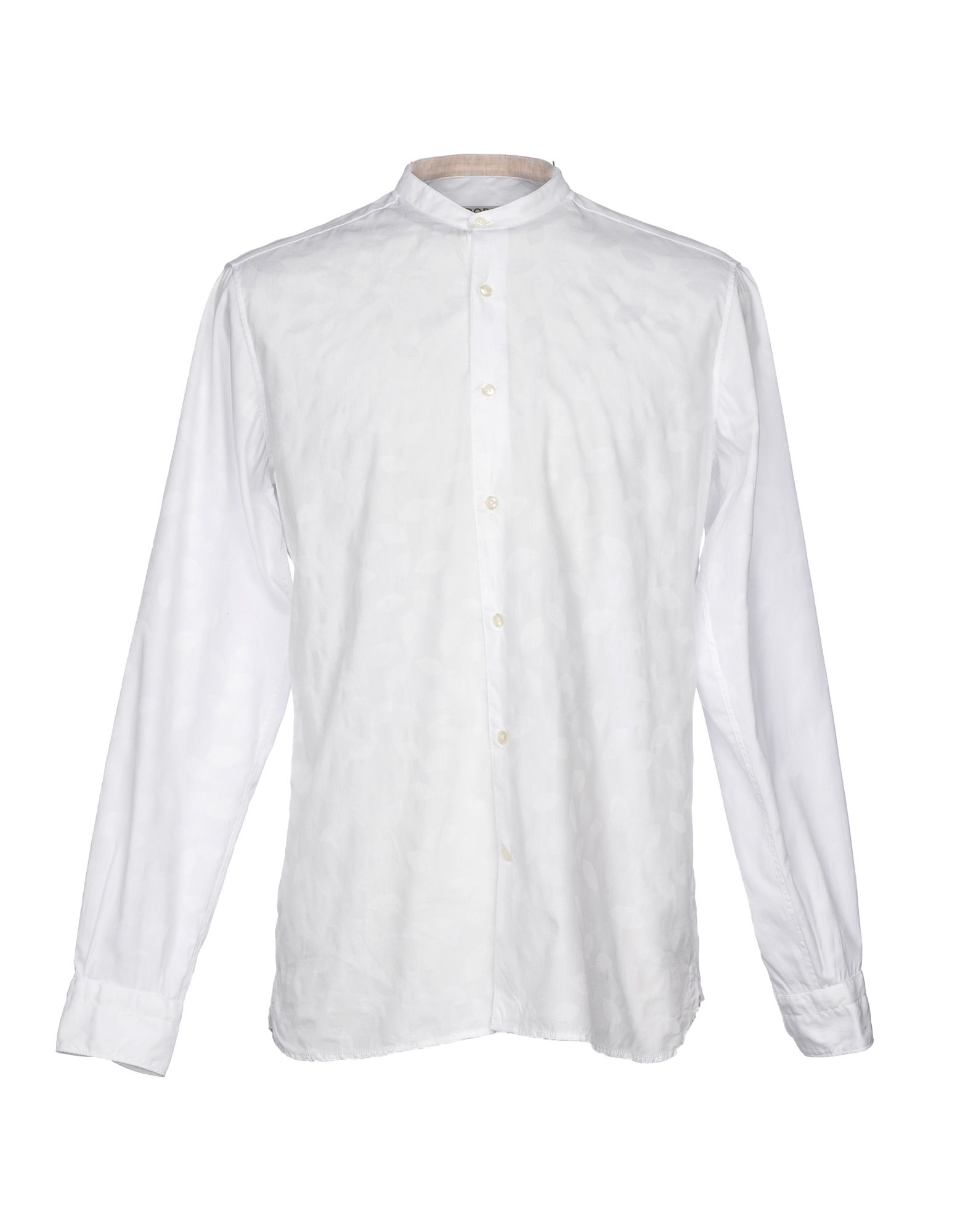 RODA Solid Color Shirt in White