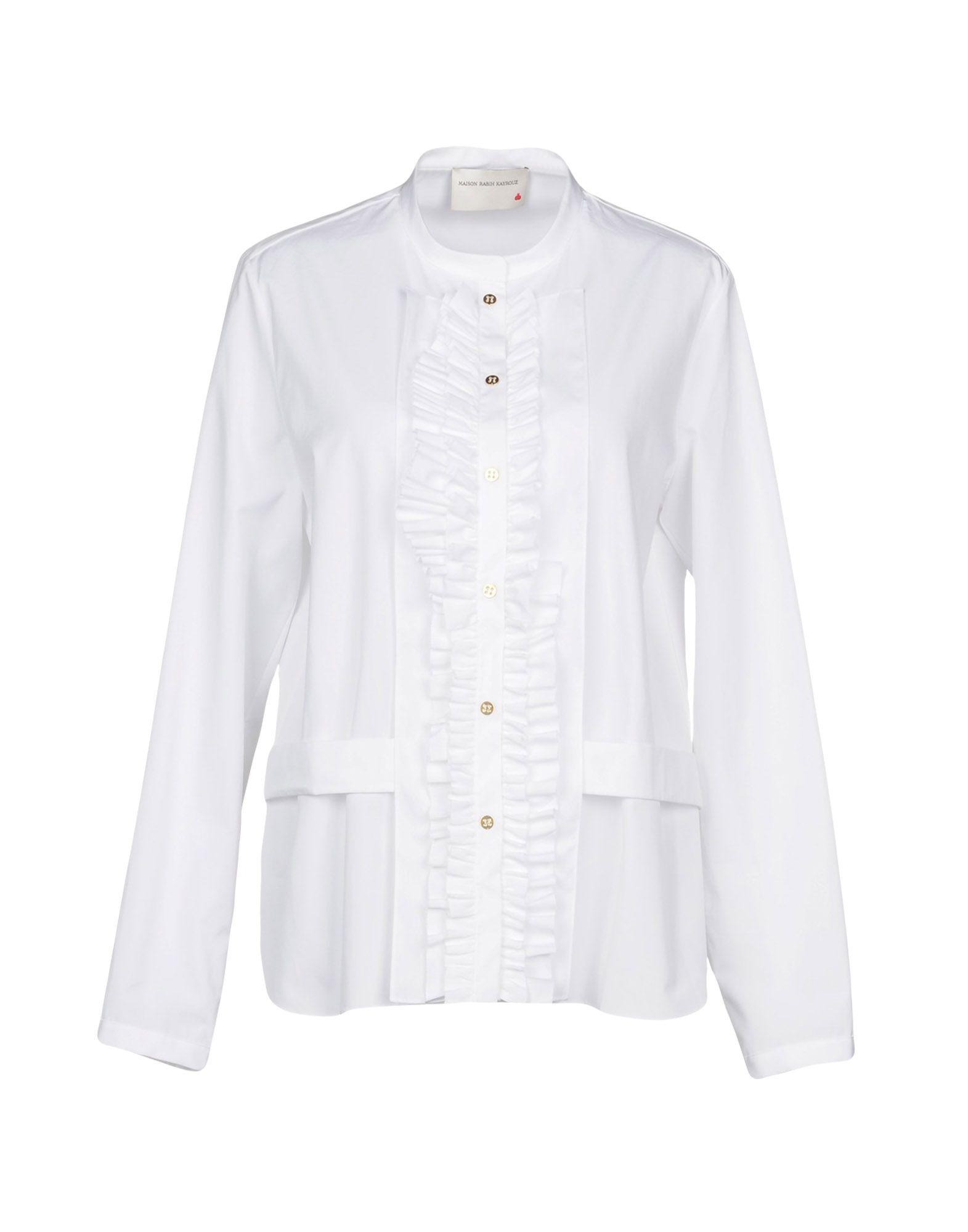 MAISON RABIH KAYROUZ Pубашка maison rabih kayrouz блузка