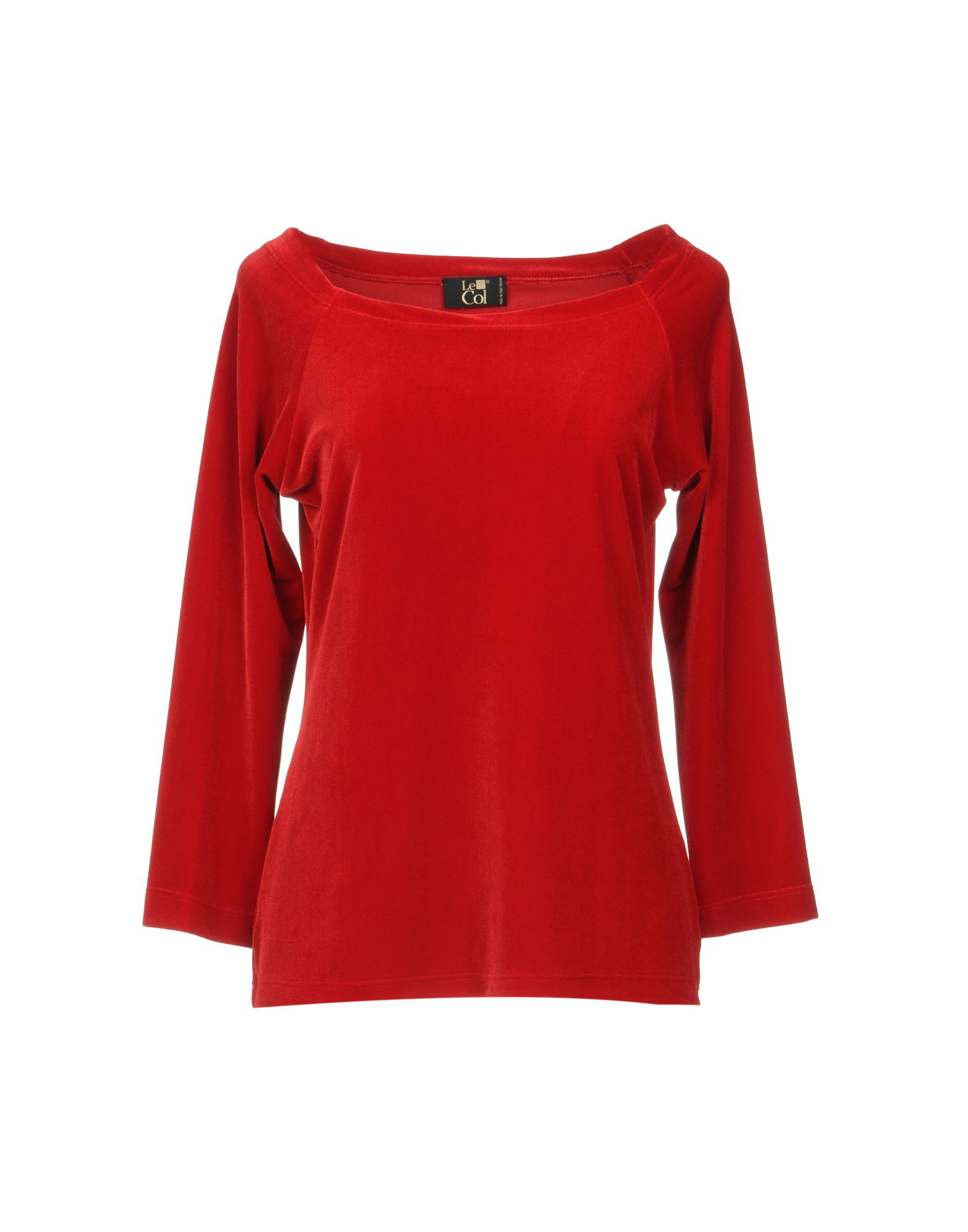 LE COL T-Shirt in Red