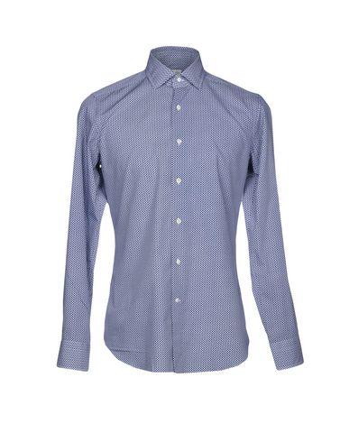 BAGUTTA メンズ シャツ ブルー 39 コットン 100%