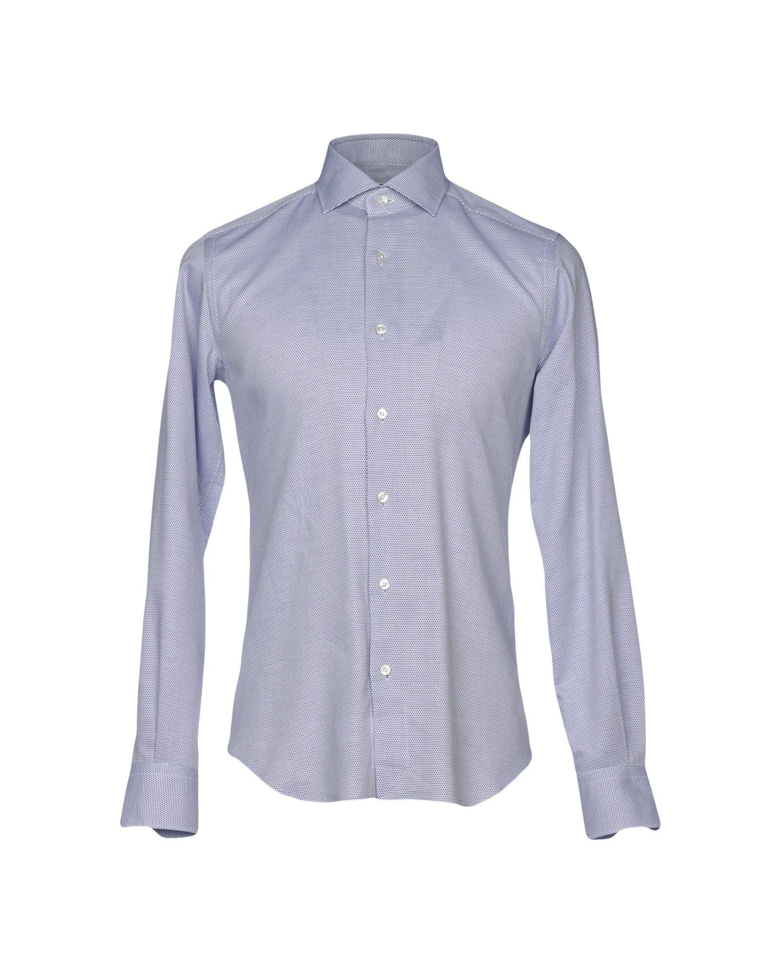 《送料無料》XACUS メンズ シャツ ダークブルー 38 コットン 100%