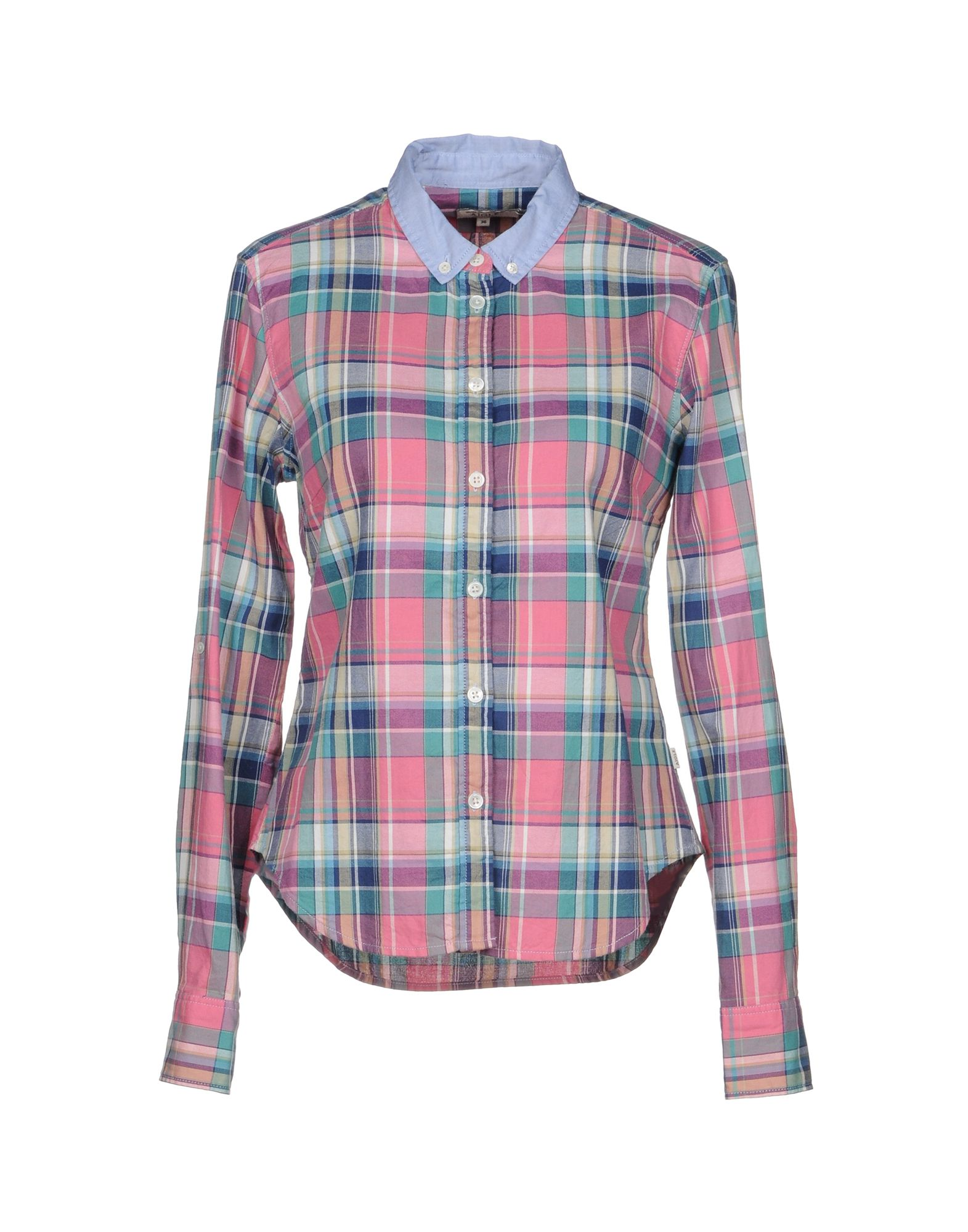 AIGLE Checked Shirt in Pink