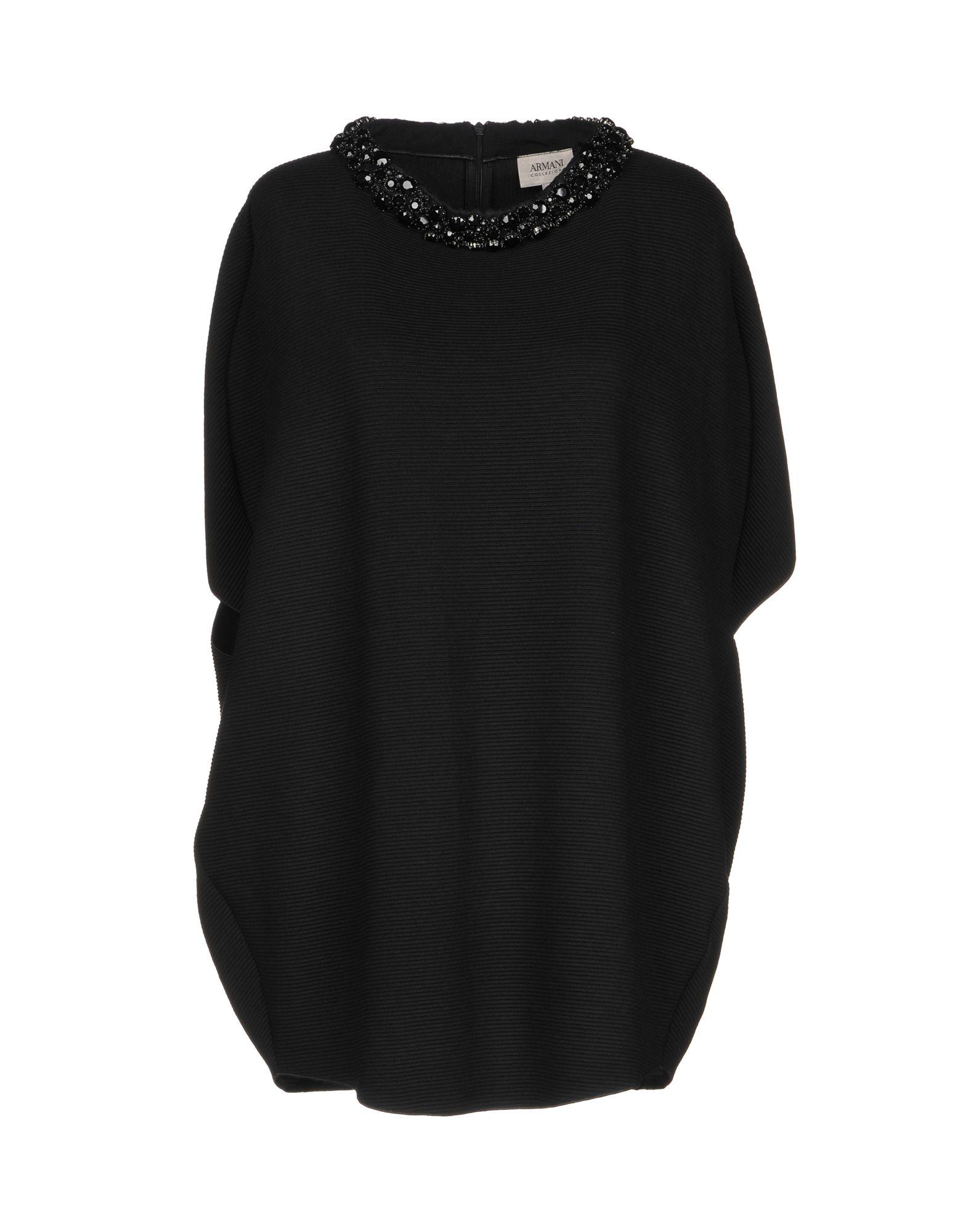 ARMANI COLLEZIONI Блузка пуловер armani collezioni джемперы свитера и пуловеры короткие