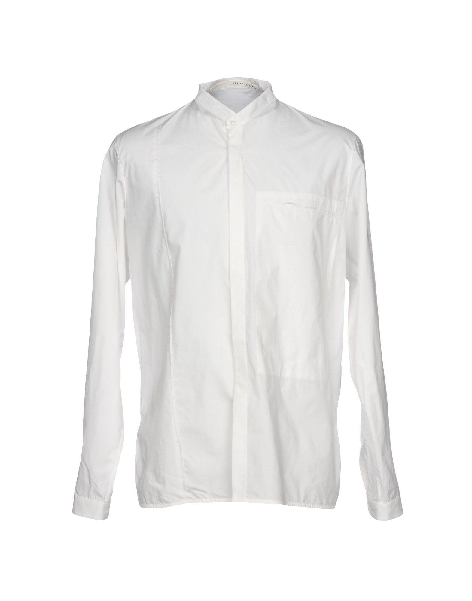 ISABEL BENENATO Pубашка sheer insert frill trim blouse