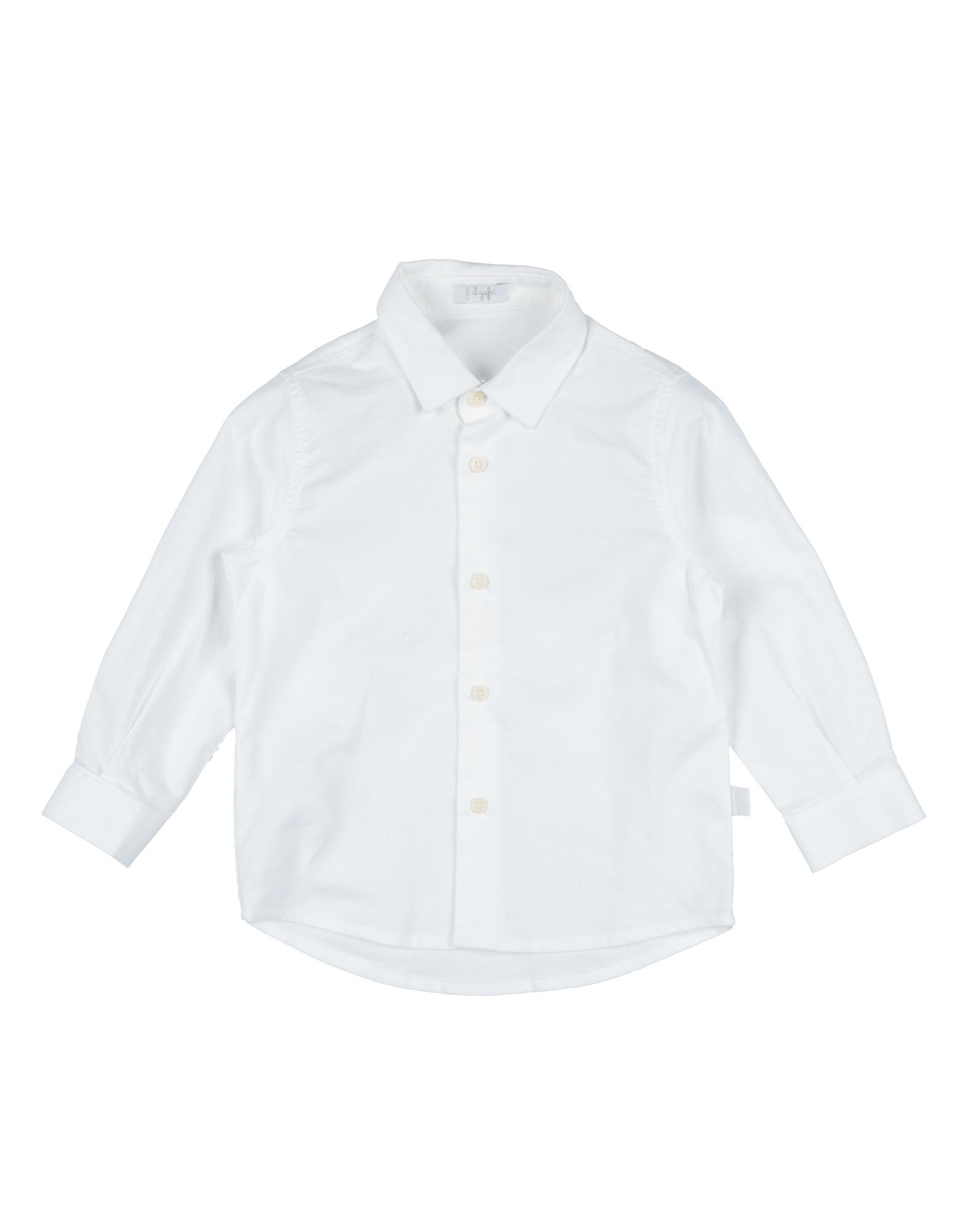 IL GUFO Solid Color Shirt in White