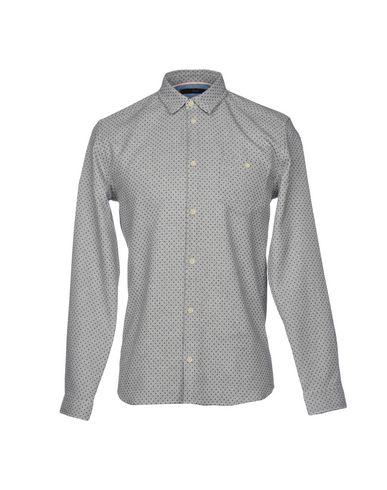 SUIT メンズ シャツ グレー S コットン 100%