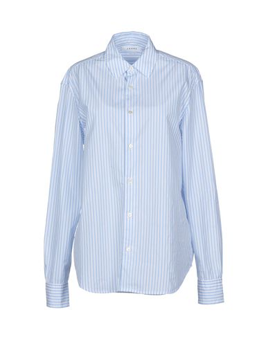 Купить Pубашка от FRAME небесно-голубого цвета