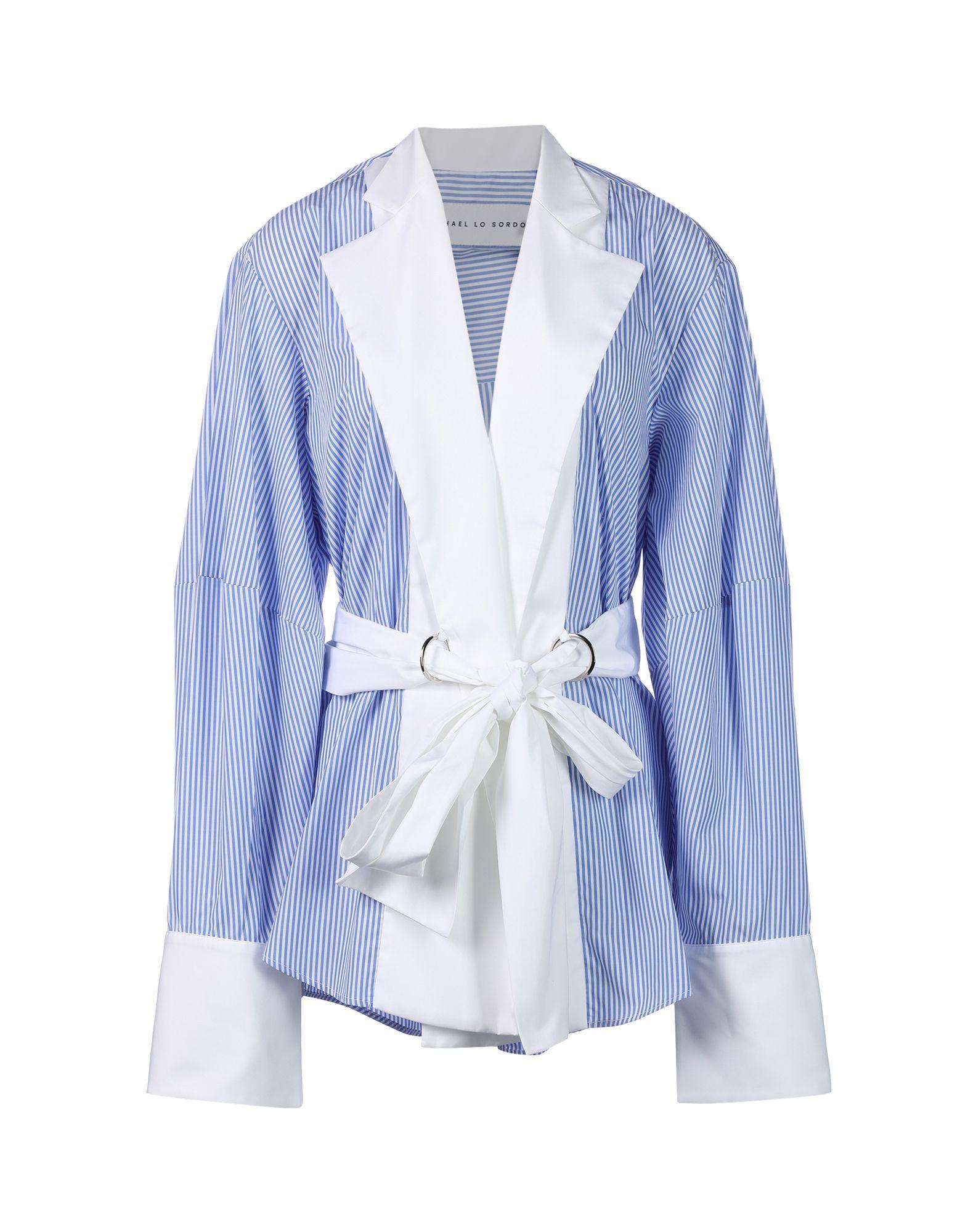 MICHAEL LO SORDO Pубашка lo кожаный ремень lo