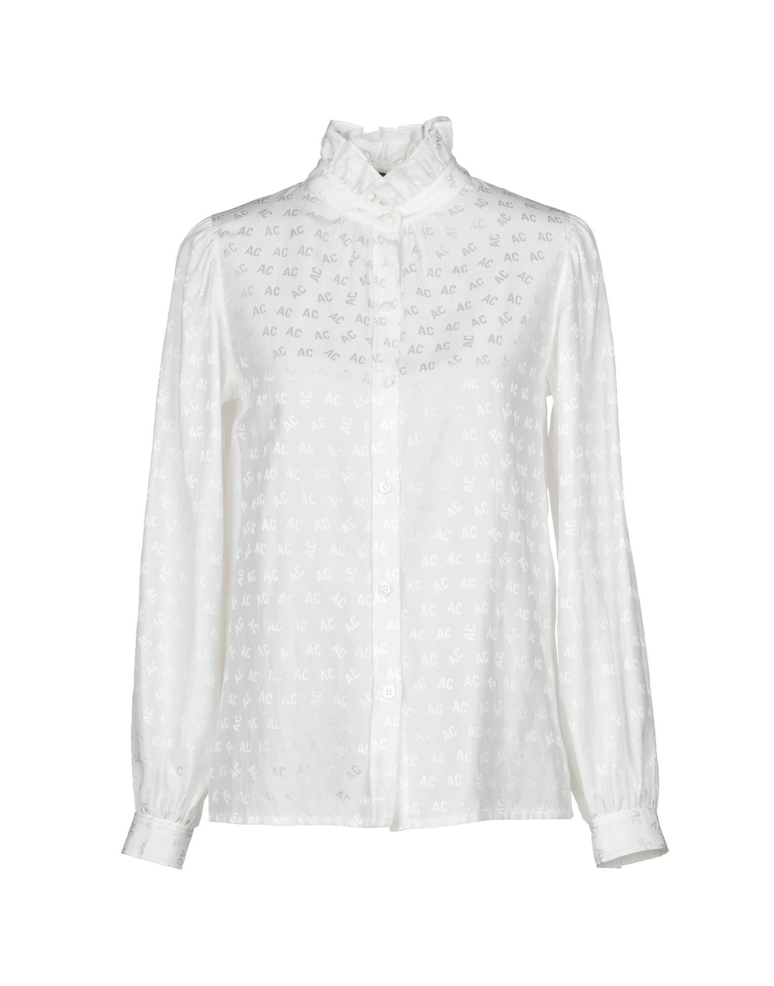 ALEXACHUNG Pубашка ткань