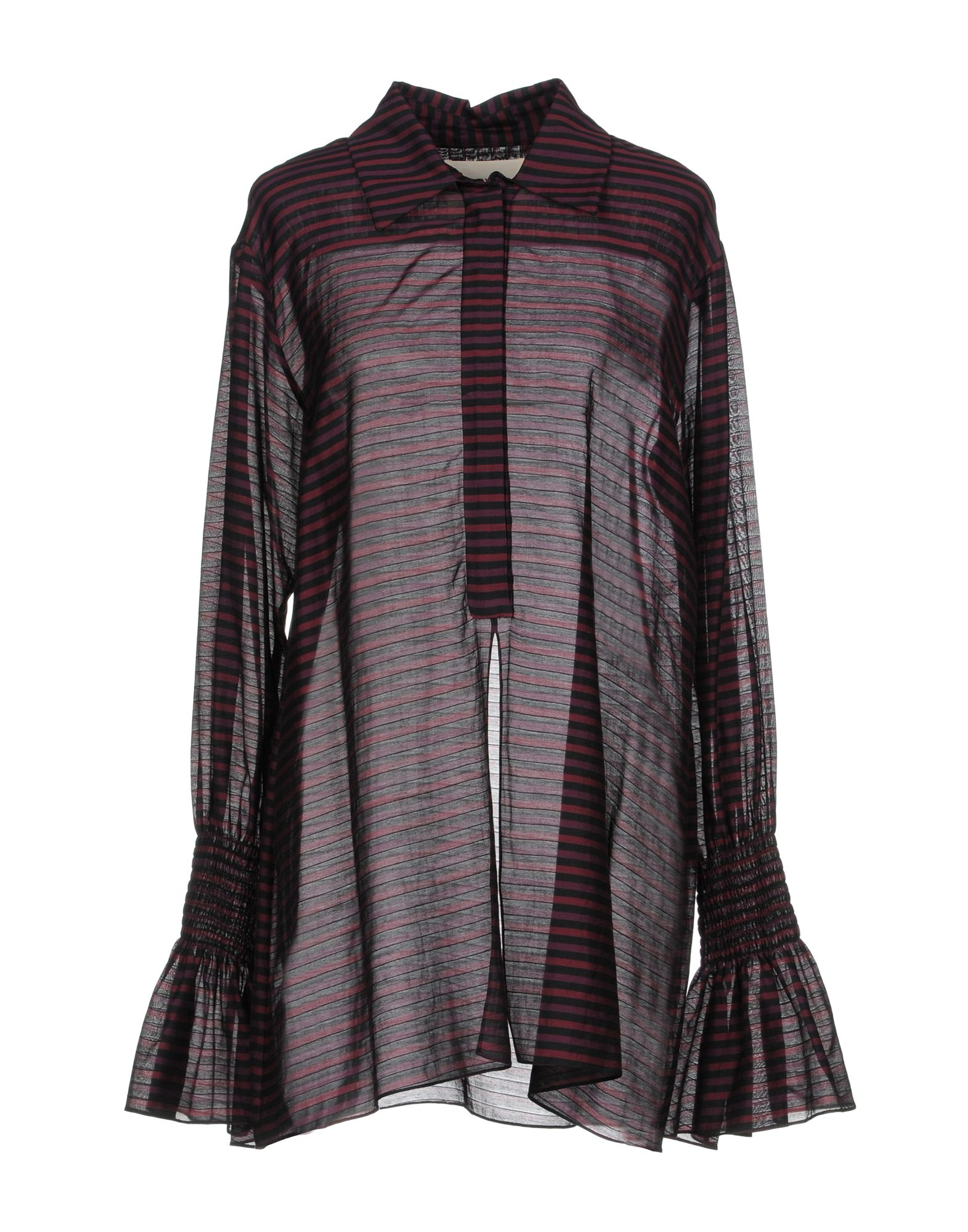 BY. BONNIE YOUNG Blouse in Deep Purple