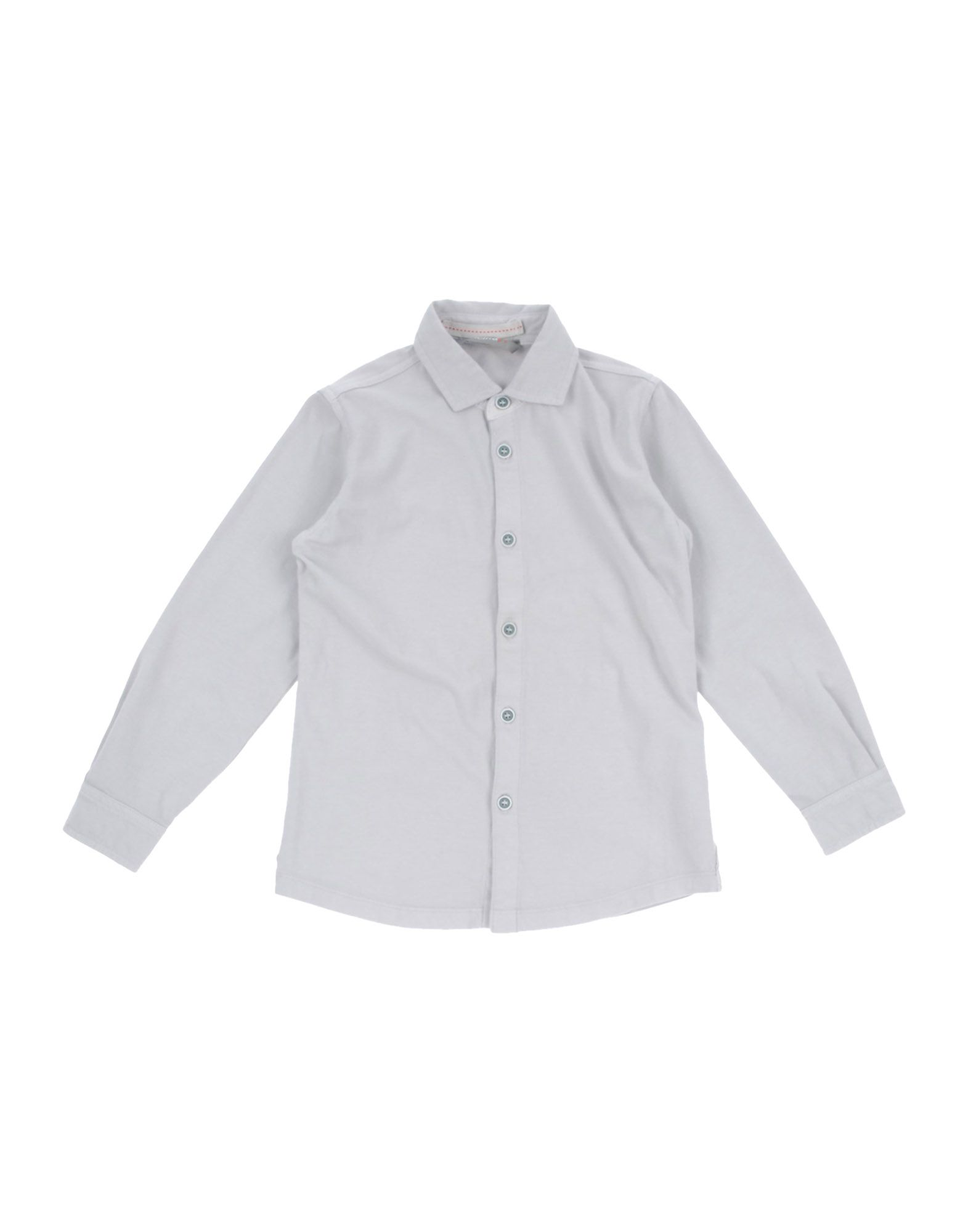 OFFICINA 51 Solid Color Shirt in Grey