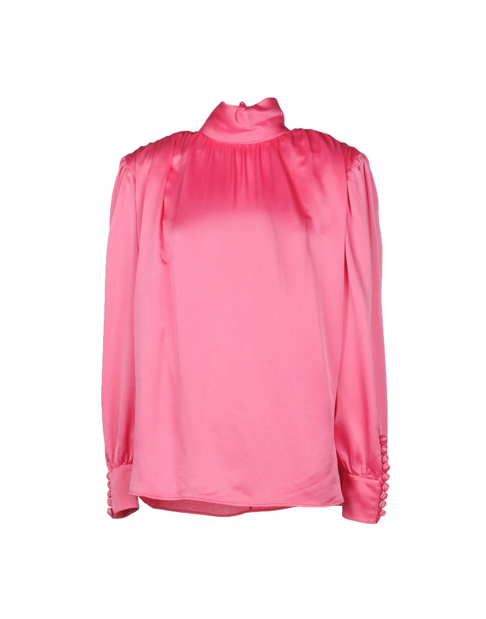 GUCCI Блузка gucci розовая блузка с бантом