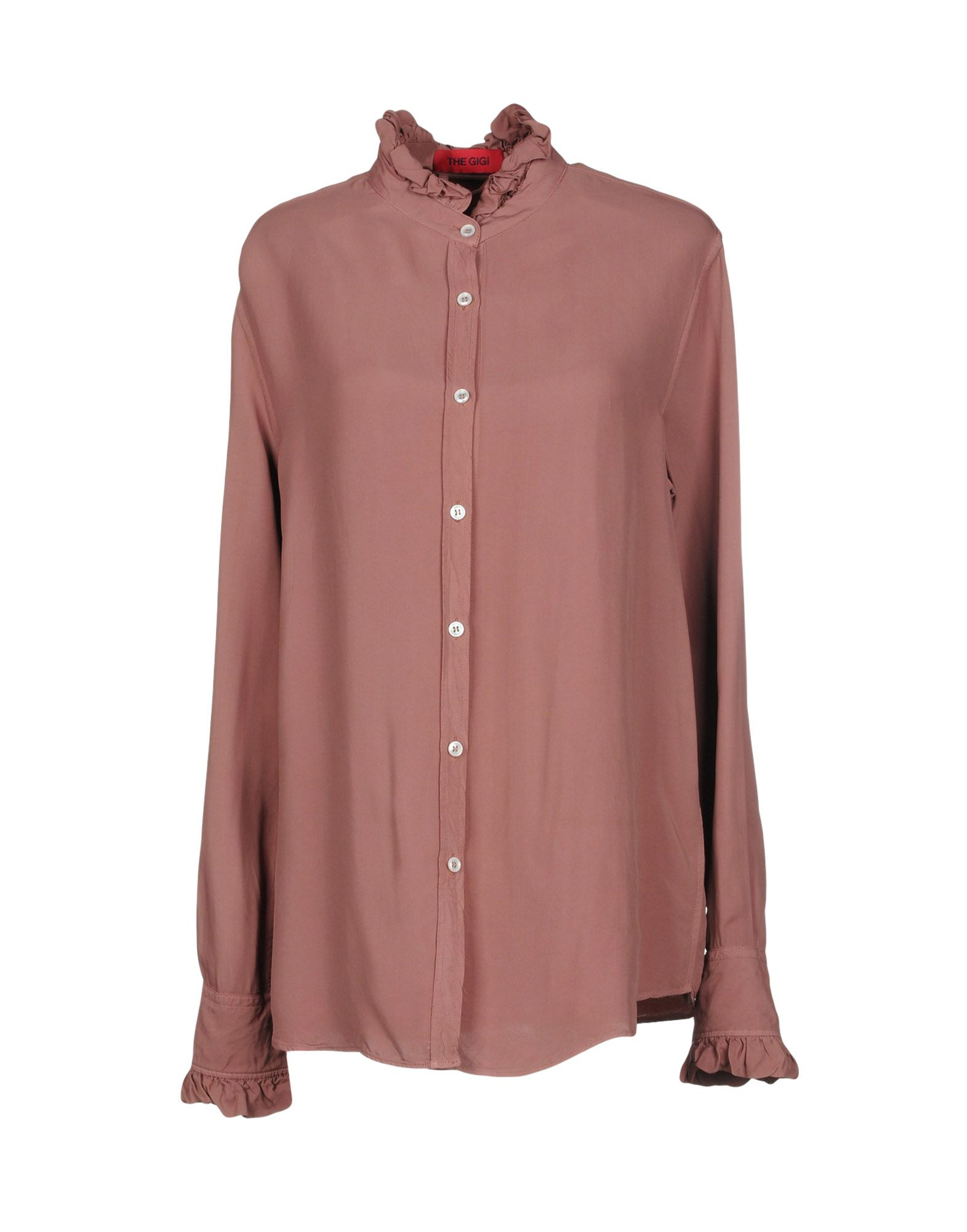 The Gigi Solid color shirts & blouses