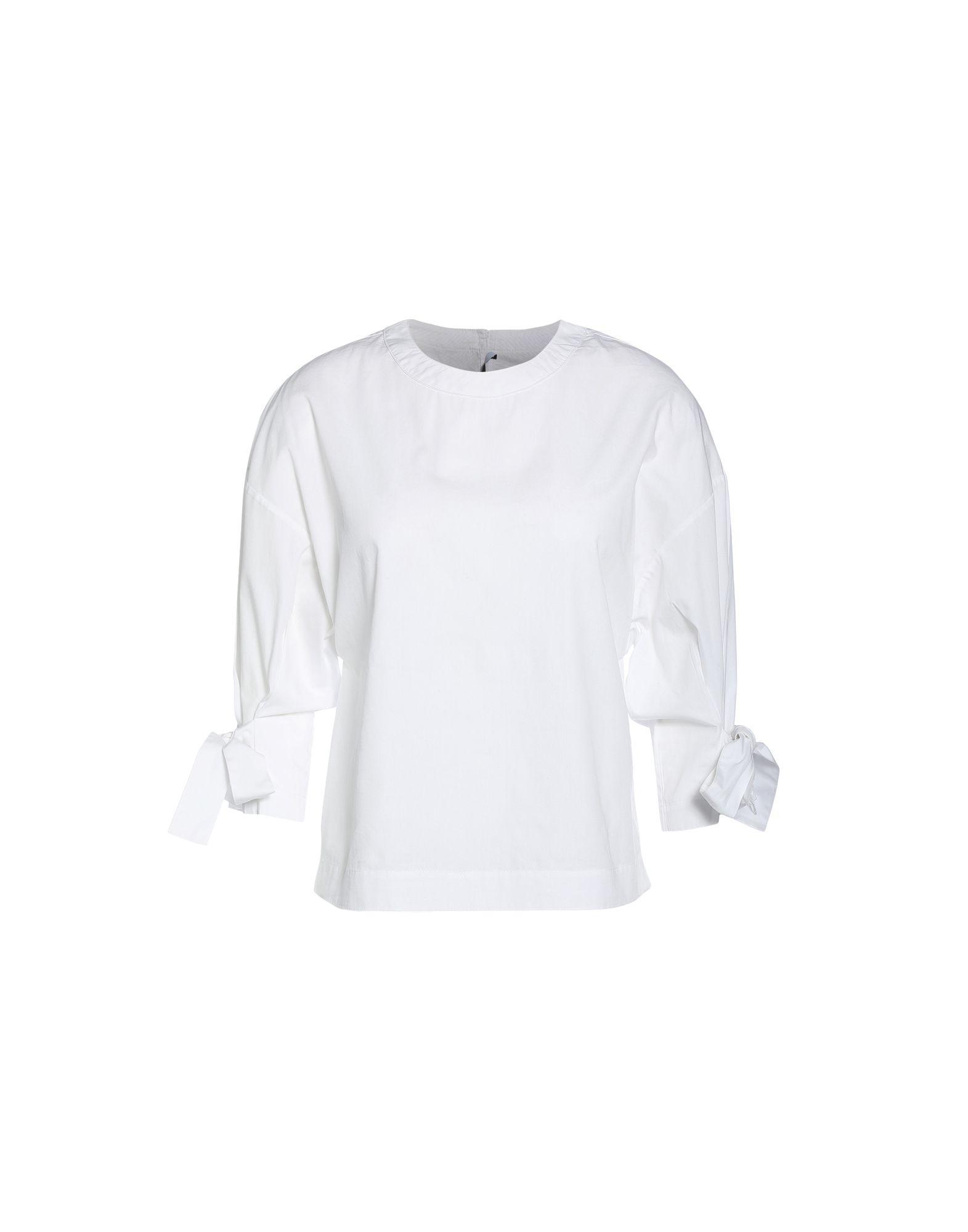 《送料無料》ROSETTA GETTY レディース シャツ ホワイト 0 コットン 100%