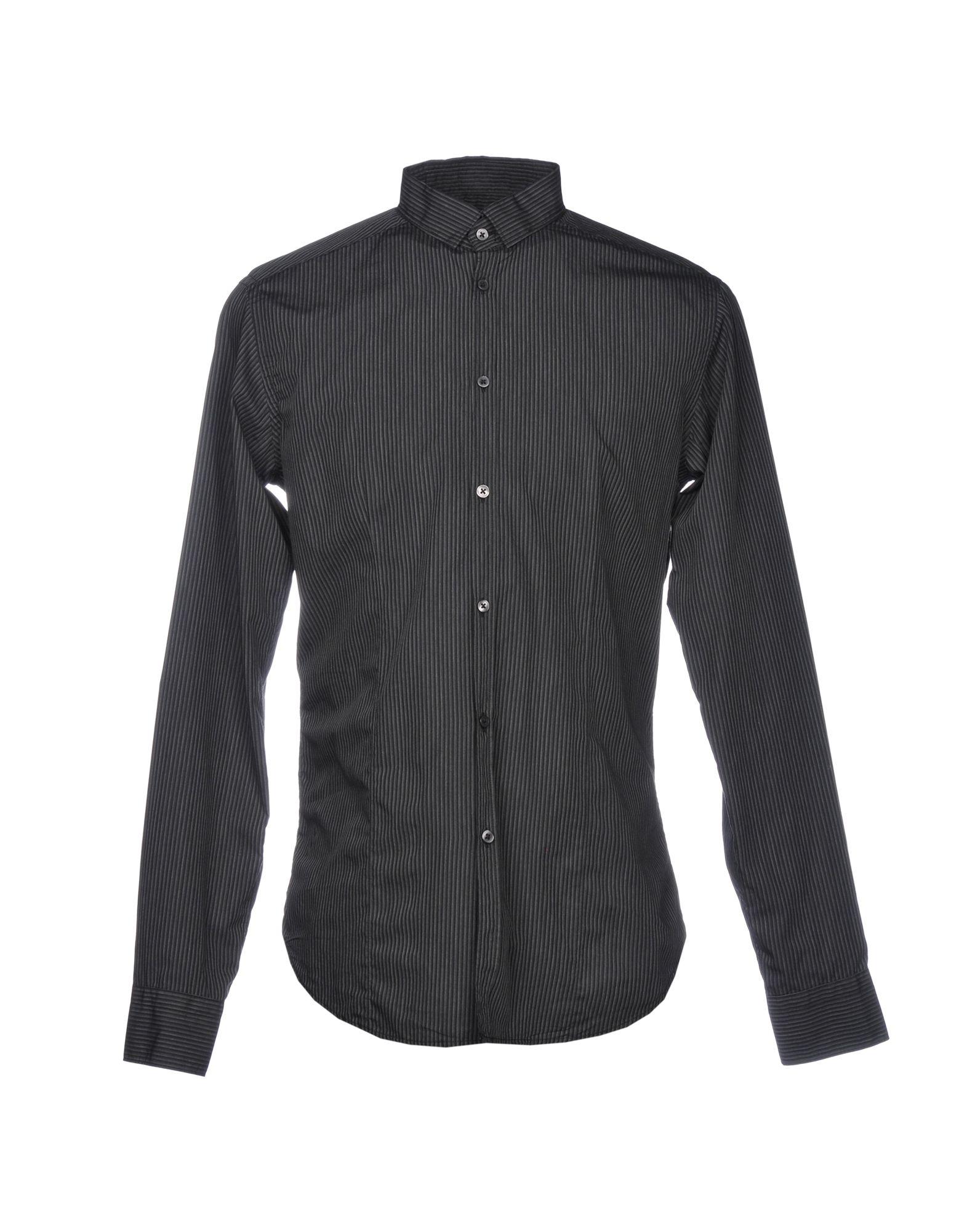 《送料無料》LIBERTY ROSE メンズ シャツ スチールグレー 41 コットン 100%