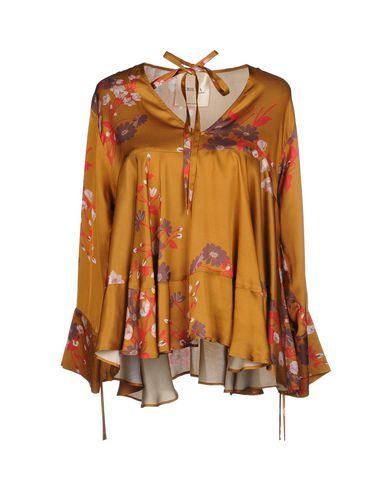 Фото - Женскую блузку CRILLA NANÀ коричневого цвета